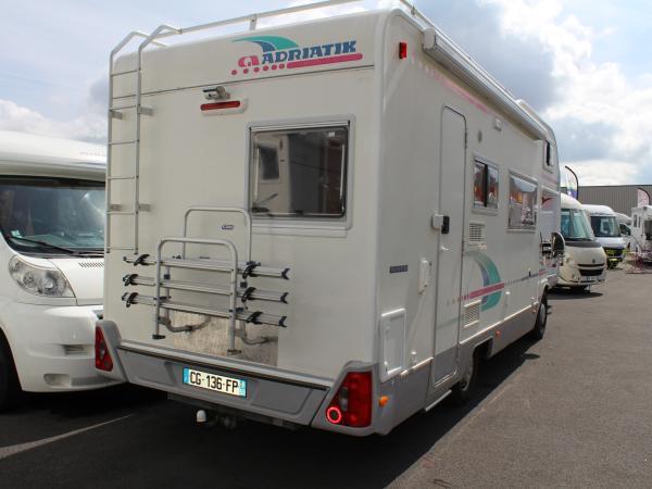 adria 670 dk occasion de 2001 fiat camping car en vente seclin nord 59. Black Bedroom Furniture Sets. Home Design Ideas