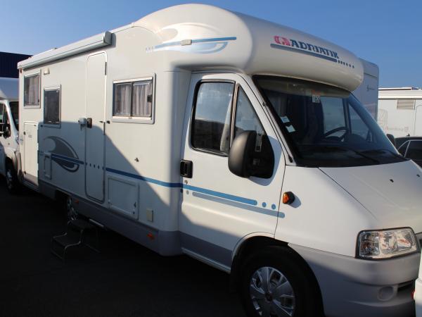 adria 680 sp occasion porteur fiat 127 camping car vendre en nord 59 ref 100649. Black Bedroom Furniture Sets. Home Design Ideas
