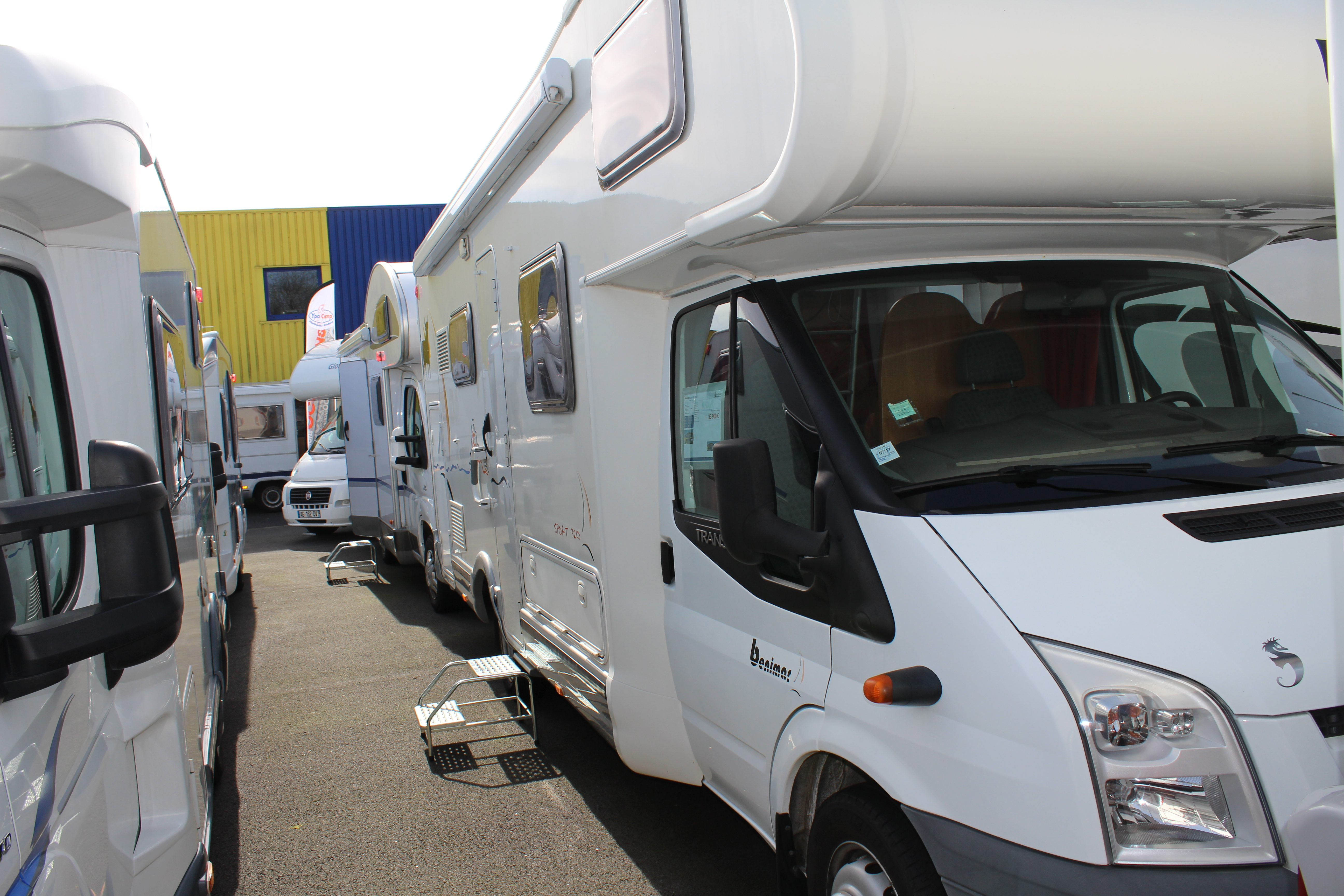 benimar sport occasion de 2008 ford camping car en vente seclin nord 59. Black Bedroom Furniture Sets. Home Design Ideas