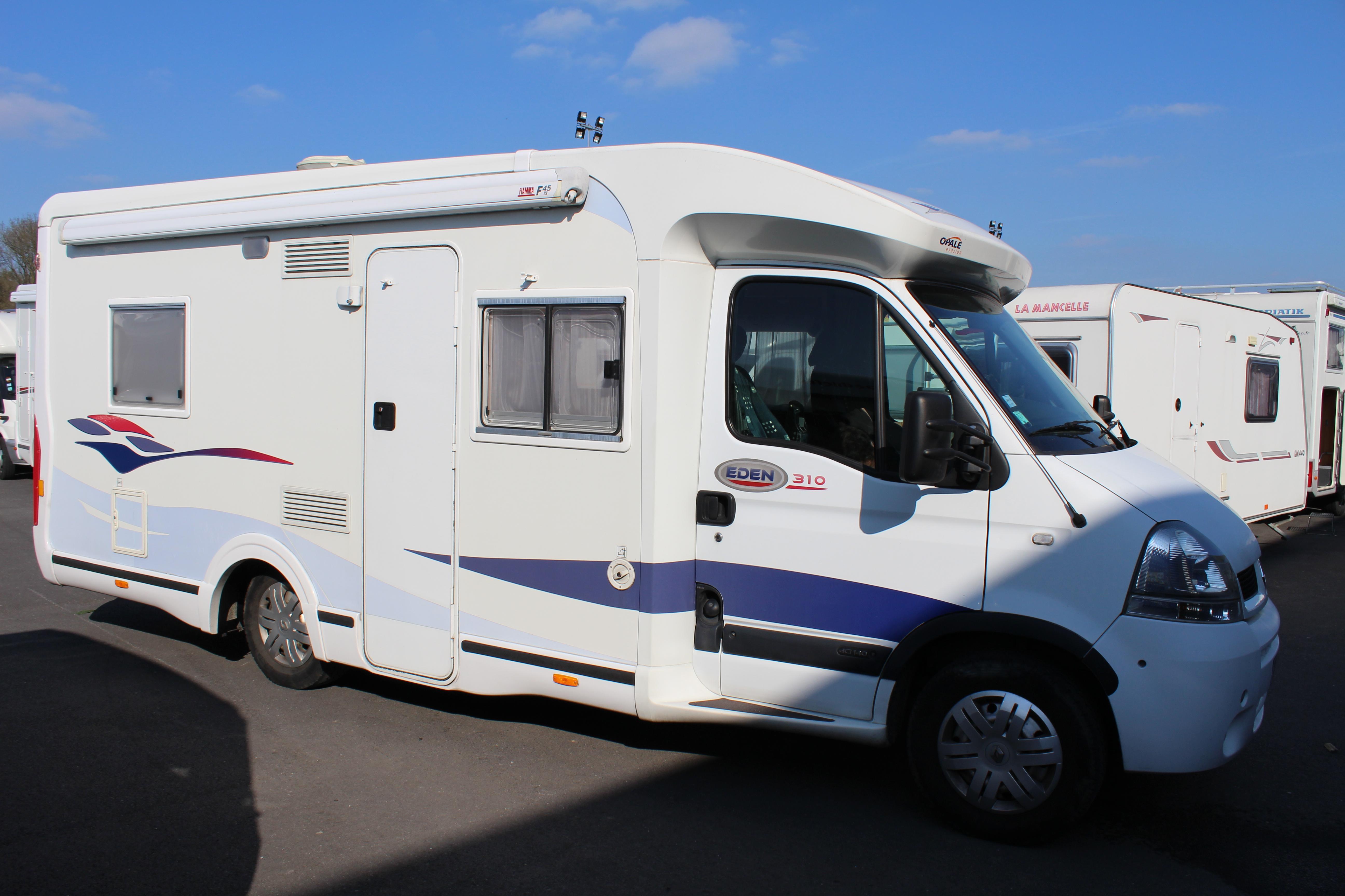 challenger eden 310 occasion de 2006 renault camping car en vente seclin nord 59. Black Bedroom Furniture Sets. Home Design Ideas