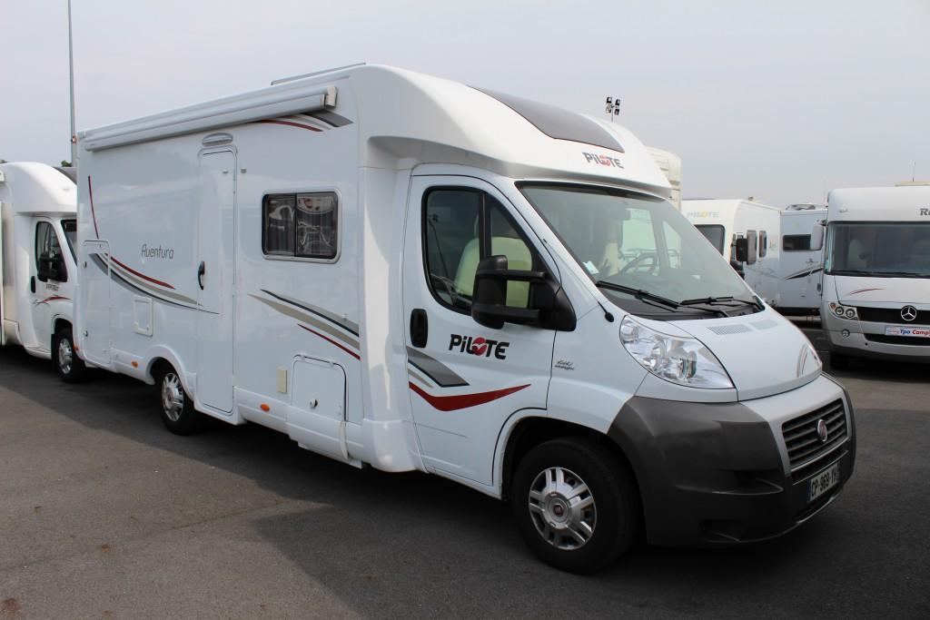 pilote p 716 lga occasion de 2013 fiat camping car en vente seclin nord 59. Black Bedroom Furniture Sets. Home Design Ideas