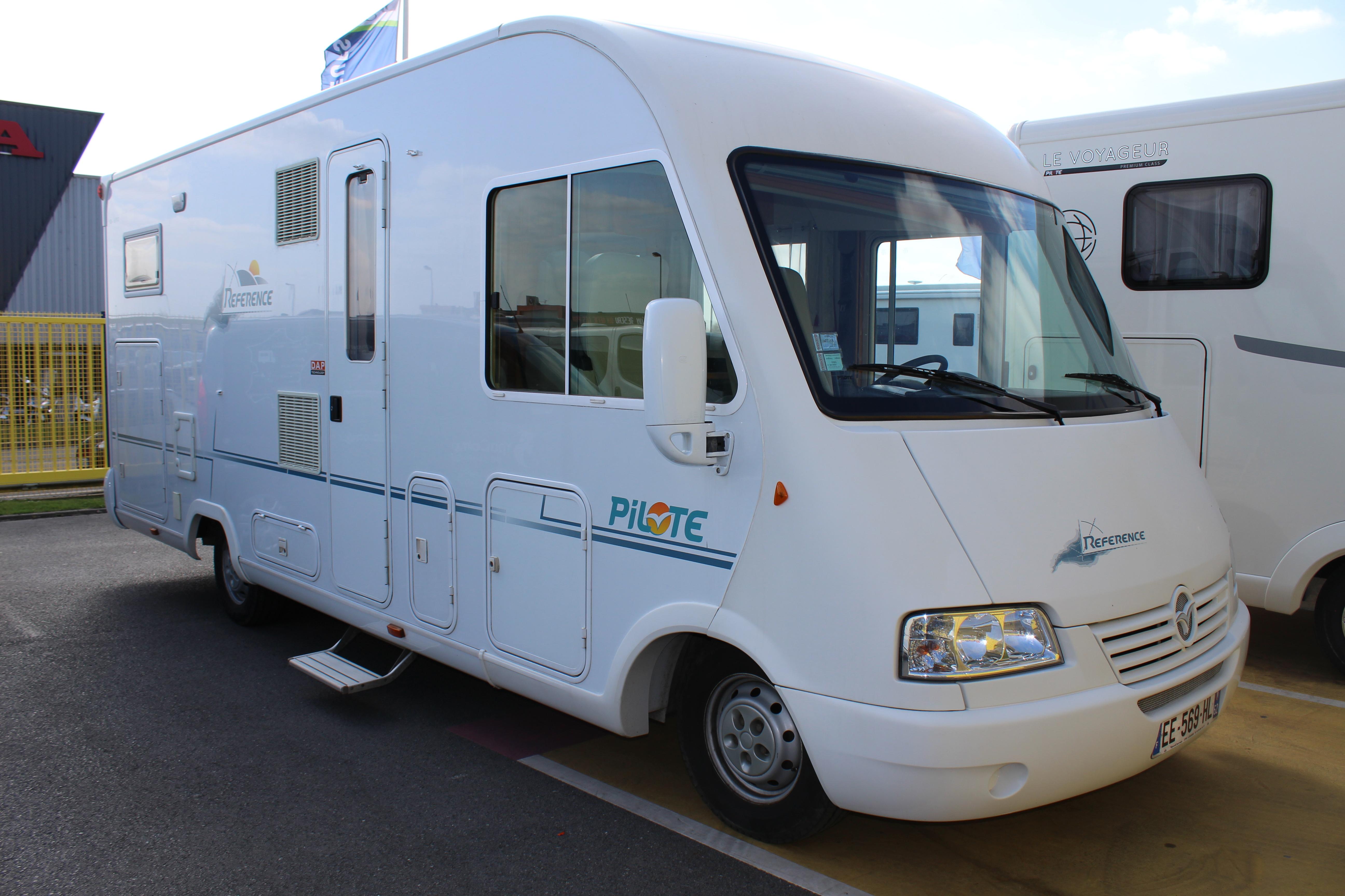 pilote reference g 692 occasion de 2005 citroen camping car en vente seclin nord 59. Black Bedroom Furniture Sets. Home Design Ideas