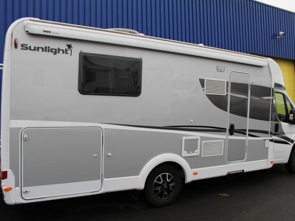 sunlight t 69 occasion de 2016 fiat camping car en vente seclin nord 59. Black Bedroom Furniture Sets. Home Design Ideas