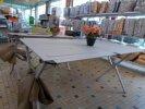 Divers table aluminium 140 cm