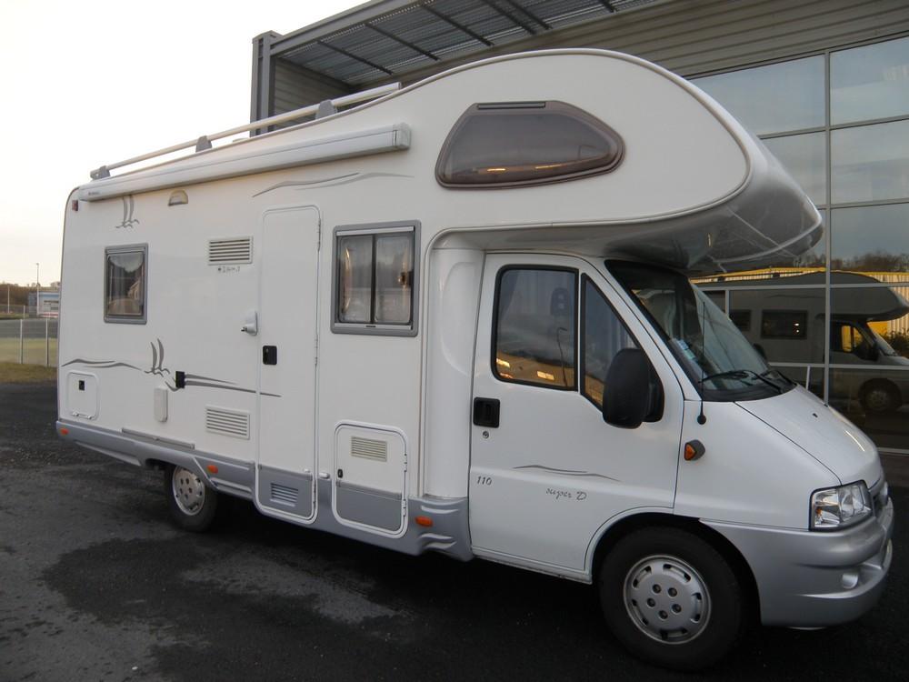 elnagh super d 110 occasion de 2005 fiat camping car en vente guilberville manche 50. Black Bedroom Furniture Sets. Home Design Ideas