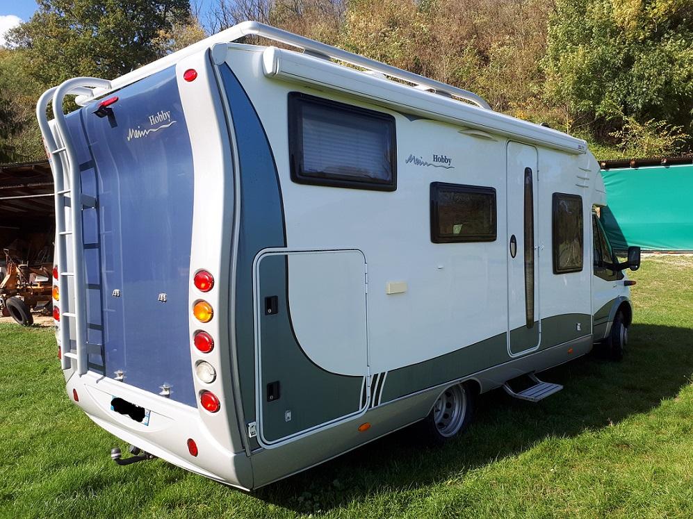 hobby siesta 650 occasion de 2009 ford camping car en vente neuville sur saone rhone 69. Black Bedroom Furniture Sets. Home Design Ideas