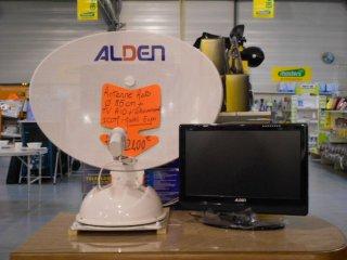 Divers Antenne auto ALDEN + TV ALDEN 19 pouces