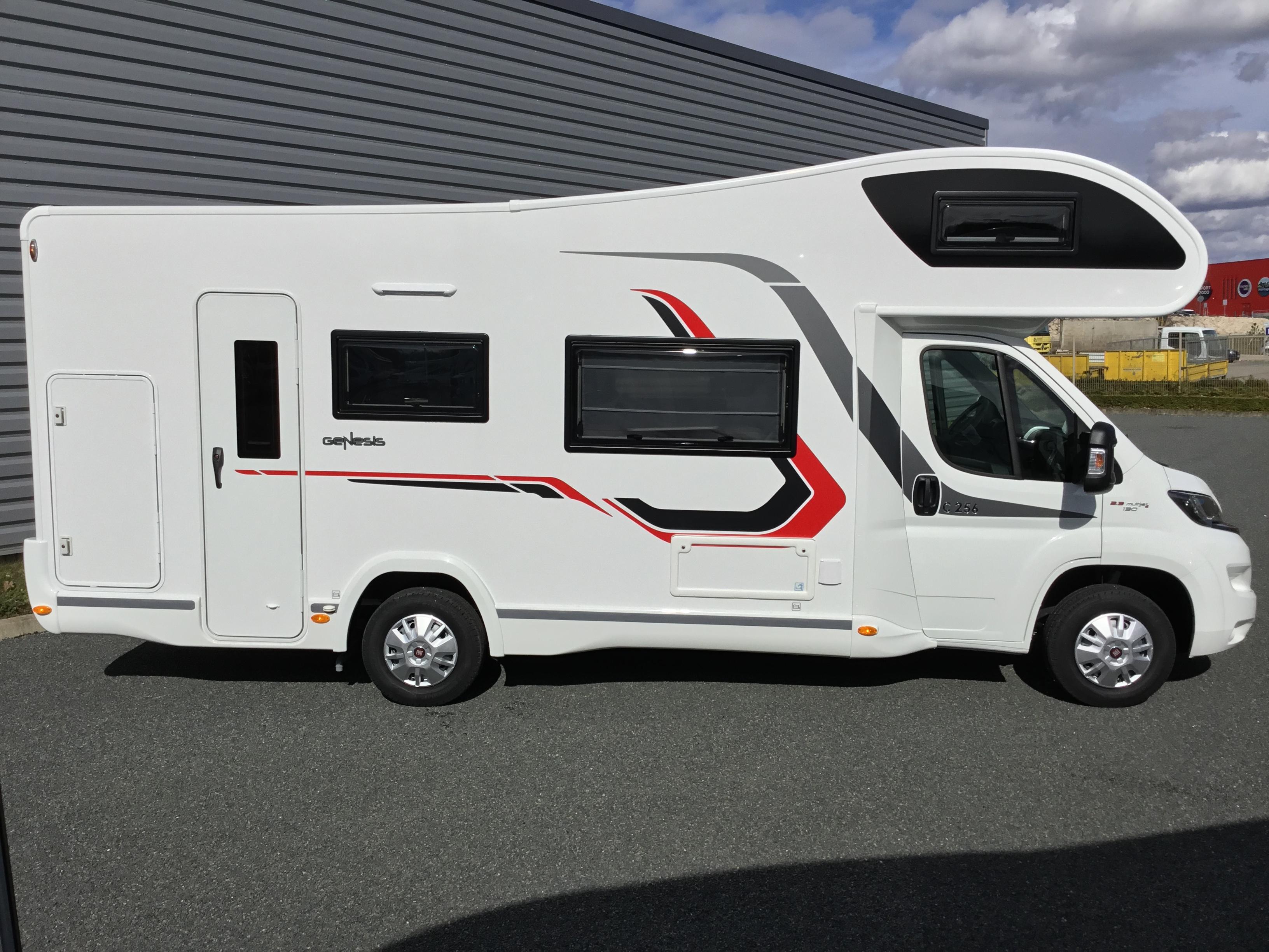challenger c 256 neuf de 2018 fiat camping car en vente checy loiret 45. Black Bedroom Furniture Sets. Home Design Ideas