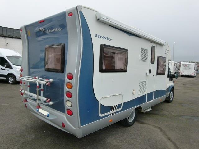 hobby siesta t 650 fsc occasion de 2006 ford camping car en vente lagny sur marne seine et. Black Bedroom Furniture Sets. Home Design Ideas