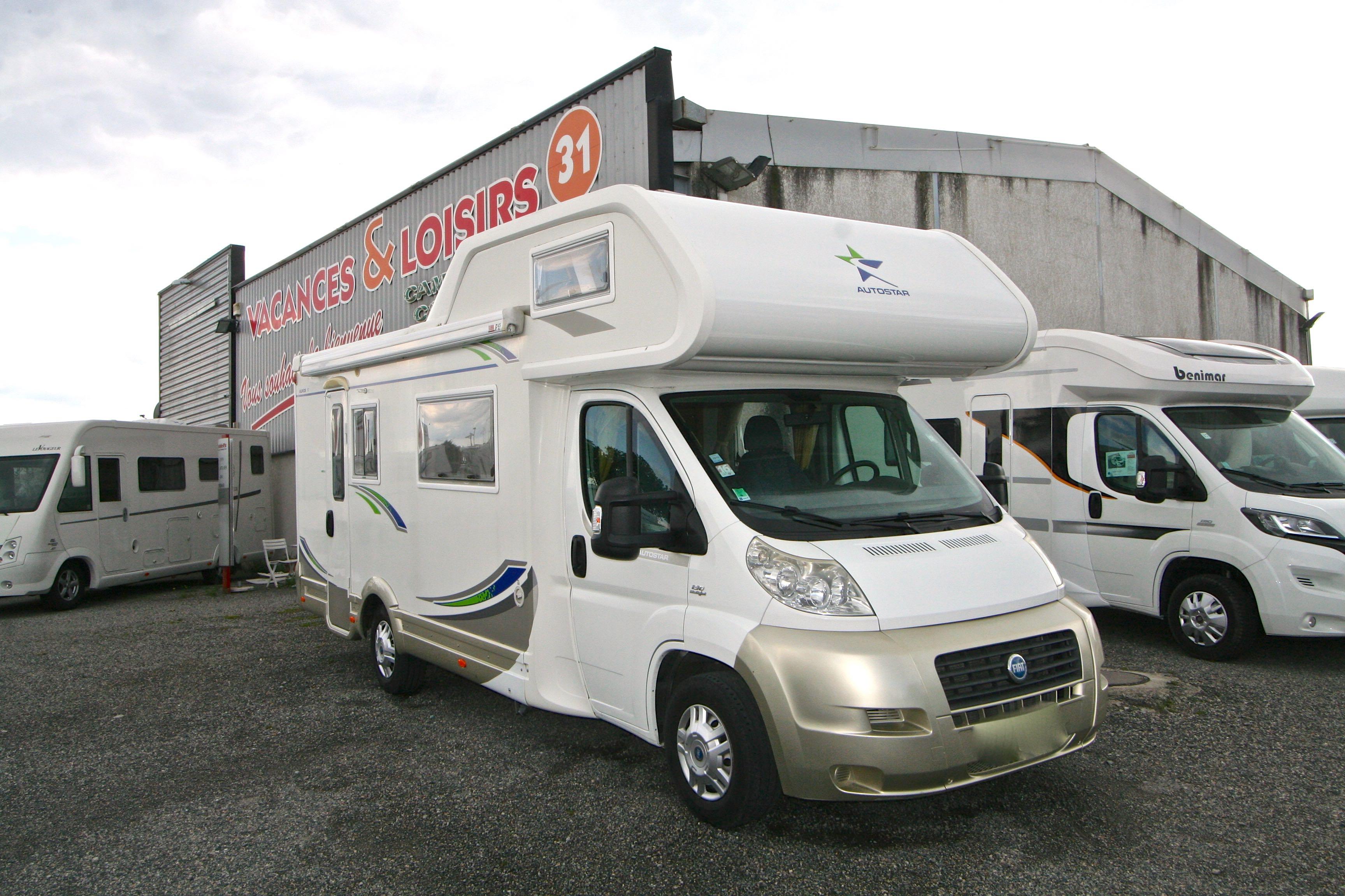 autostar auros 17 occasion de 2007 fiat camping car en vente roques sur garonne haute. Black Bedroom Furniture Sets. Home Design Ideas