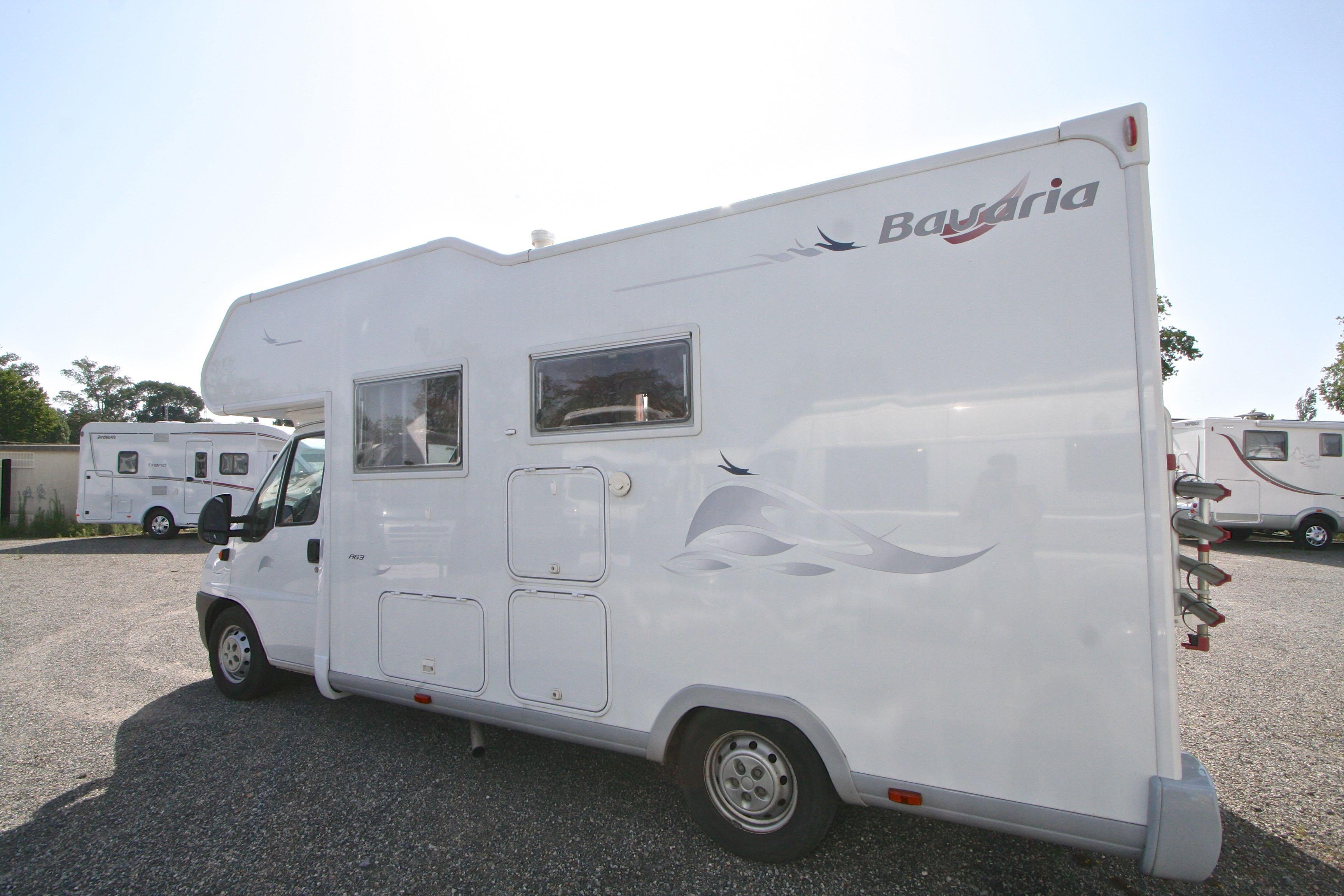bavaria a 63 ed occasion fiat camping car en vente roques sur garonne haute garonne 31. Black Bedroom Furniture Sets. Home Design Ideas