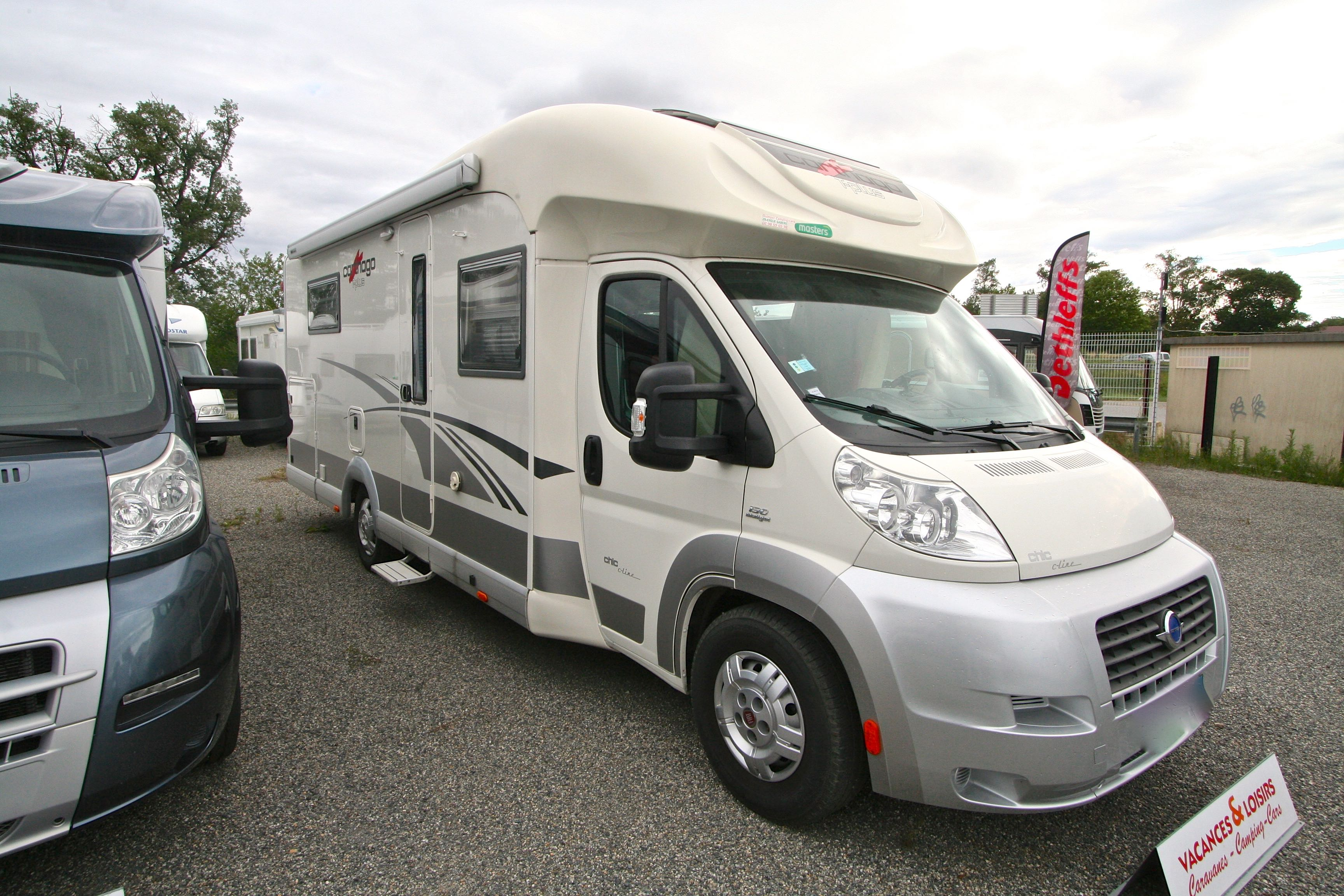 carthago c line 5 2 occasion fiat camping car en vente roques sur garonne haute garonne. Black Bedroom Furniture Sets. Home Design Ideas