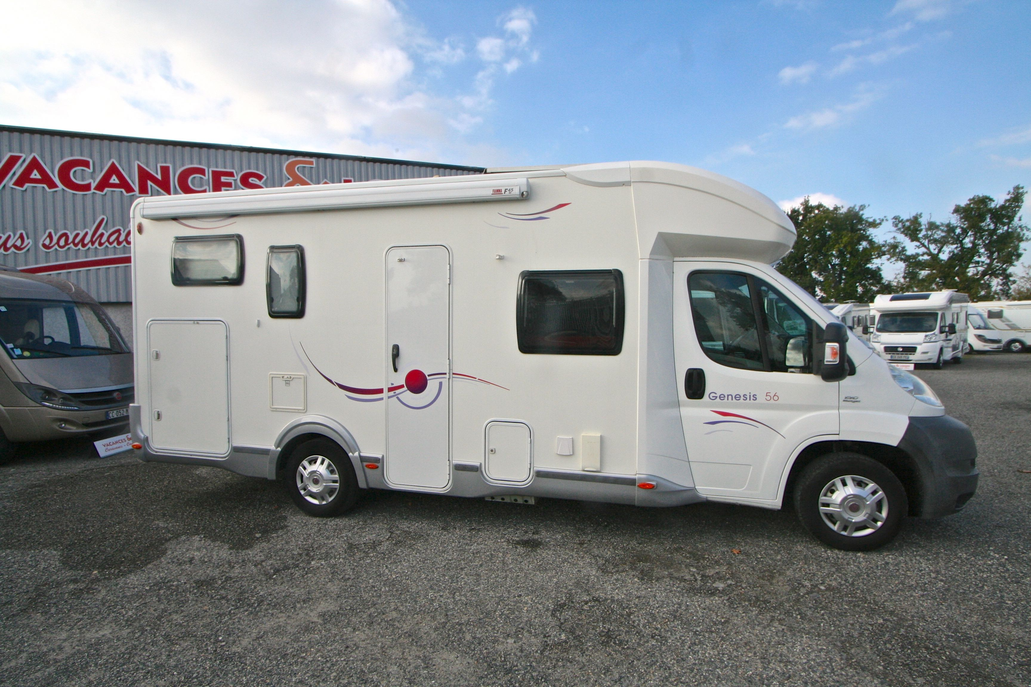 challenger genesis 56 occasion de 2010 fiat camping car en vente roques sur garonne haute. Black Bedroom Furniture Sets. Home Design Ideas