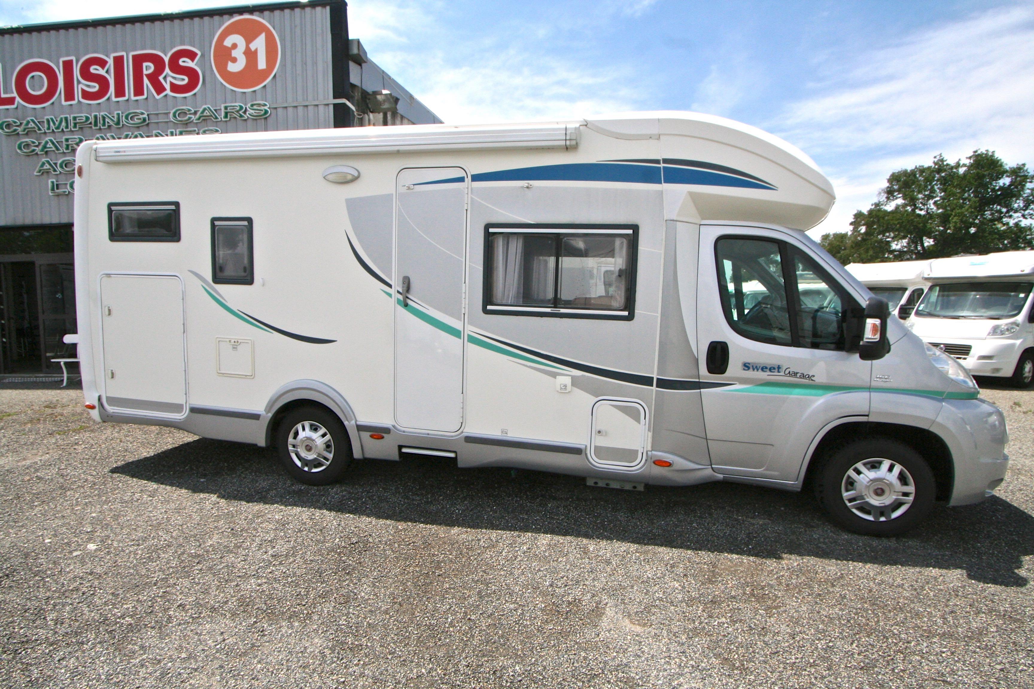 chausson sweet garage occasion fiat camping car en vente roques sur garonne haute garonne. Black Bedroom Furniture Sets. Home Design Ideas