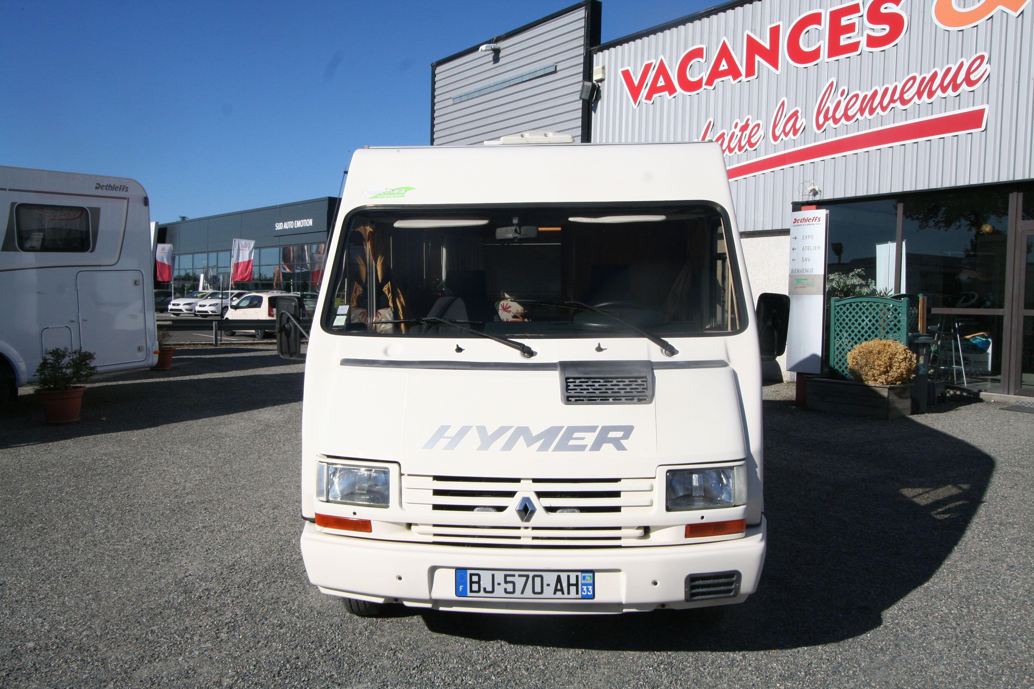 hymer 510 occasion porteur renault camping car vendre en haute garonne 31 ref 65697. Black Bedroom Furniture Sets. Home Design Ideas