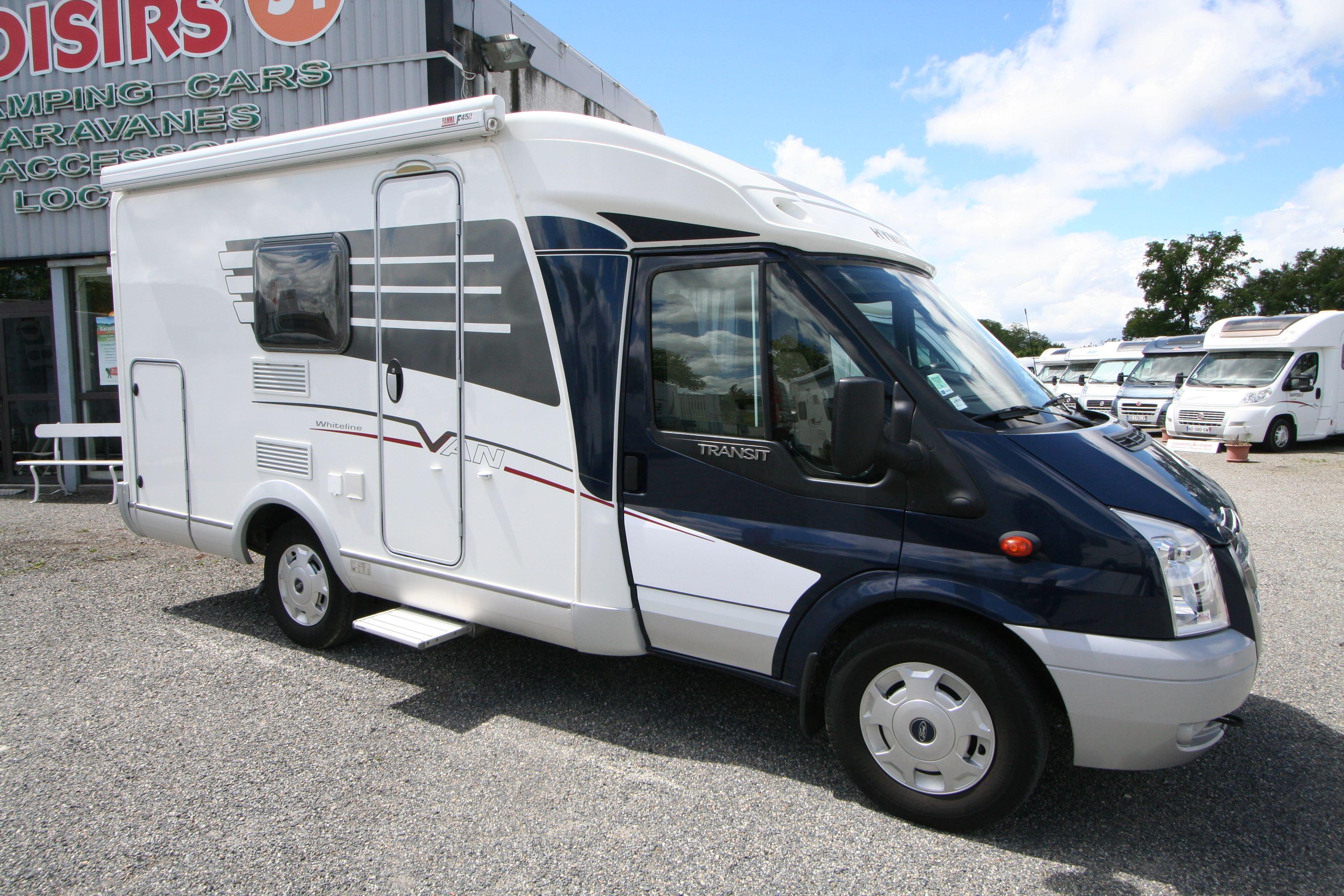 hymer van 512 whiteline occasion ford camping car en vente roques sur garonne haute. Black Bedroom Furniture Sets. Home Design Ideas