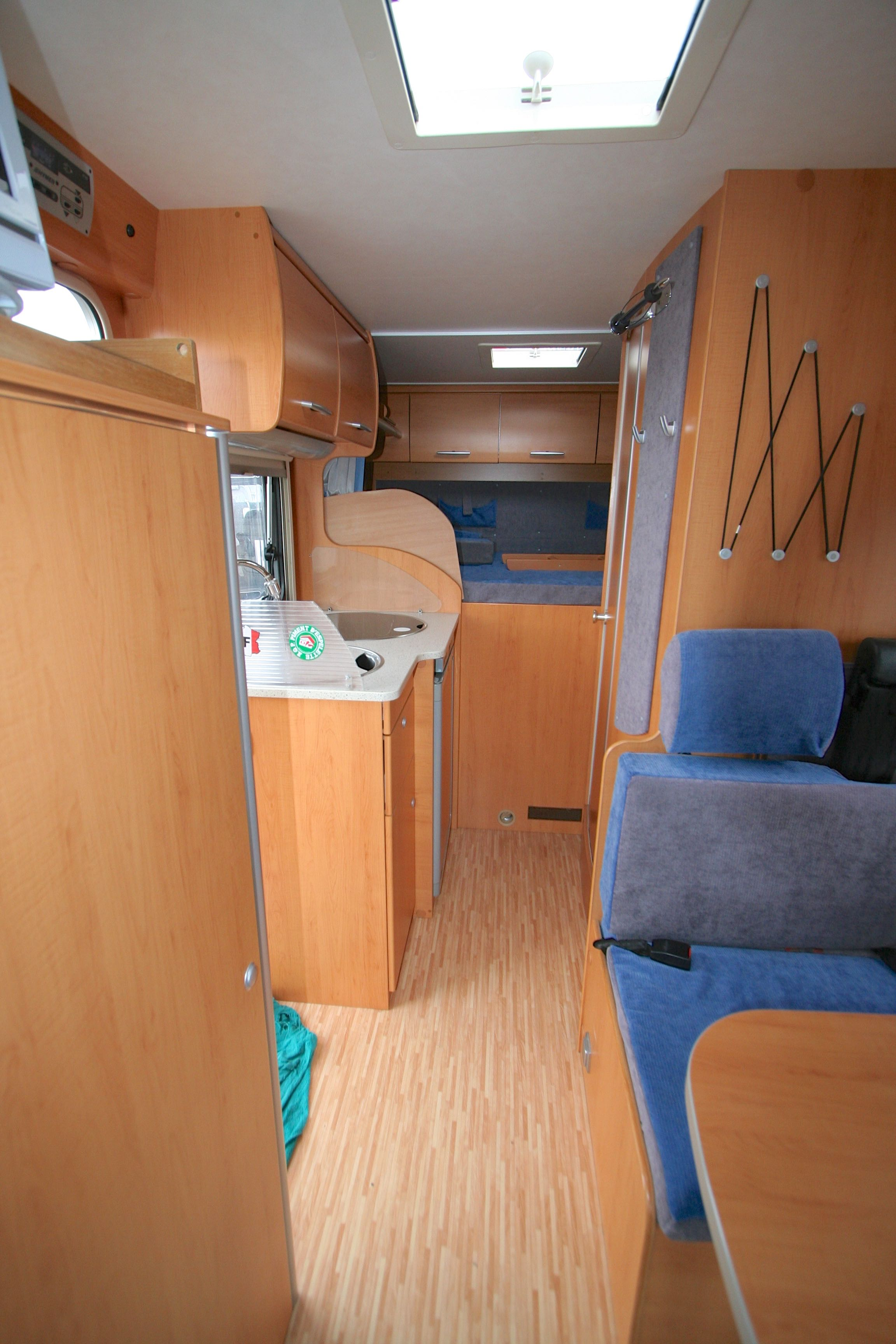 hymer van 512 occasion de 2006 - ford