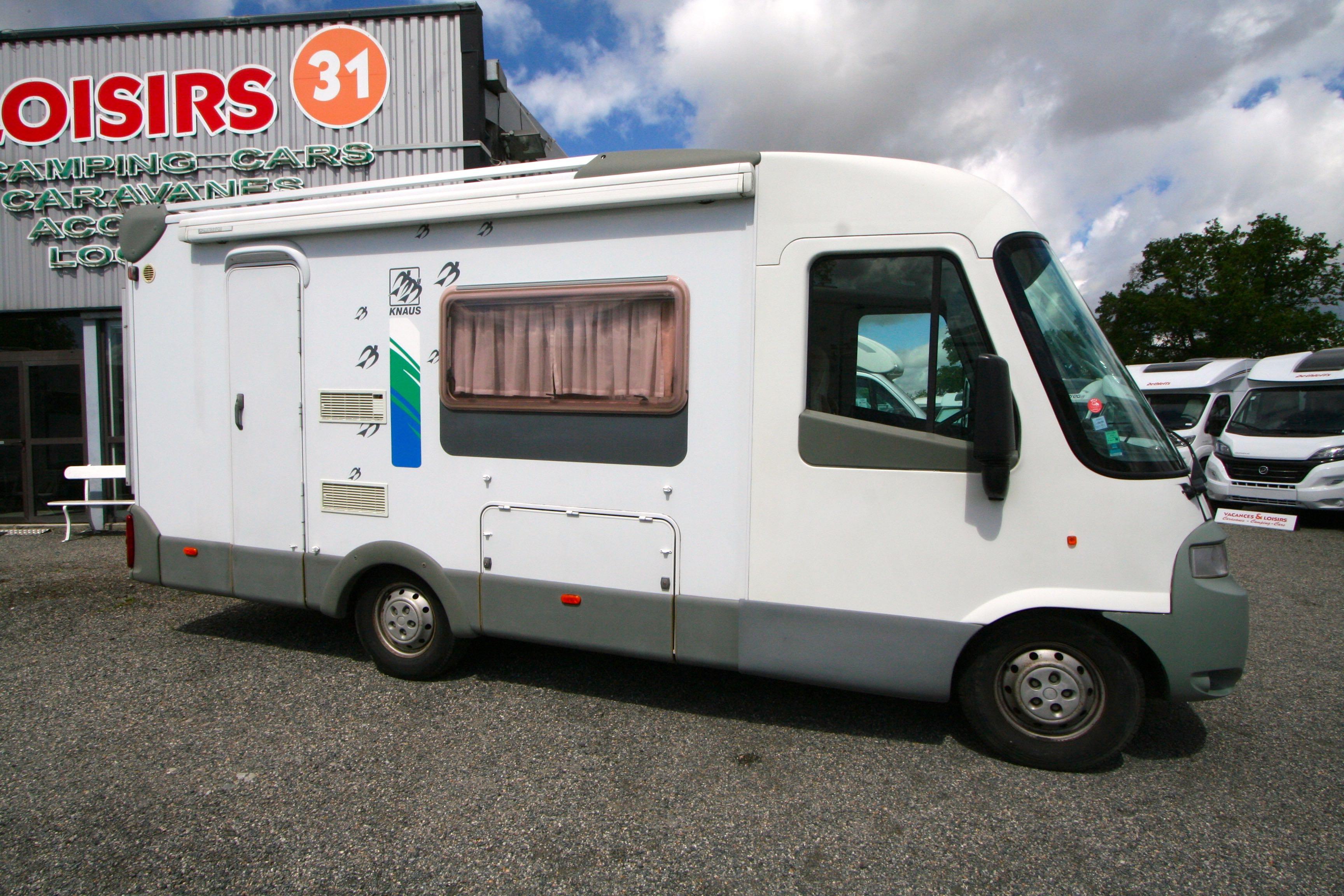 knaus starline 608l occasion fiat camping car en vente roques sur garonne haute garonne 31. Black Bedroom Furniture Sets. Home Design Ideas