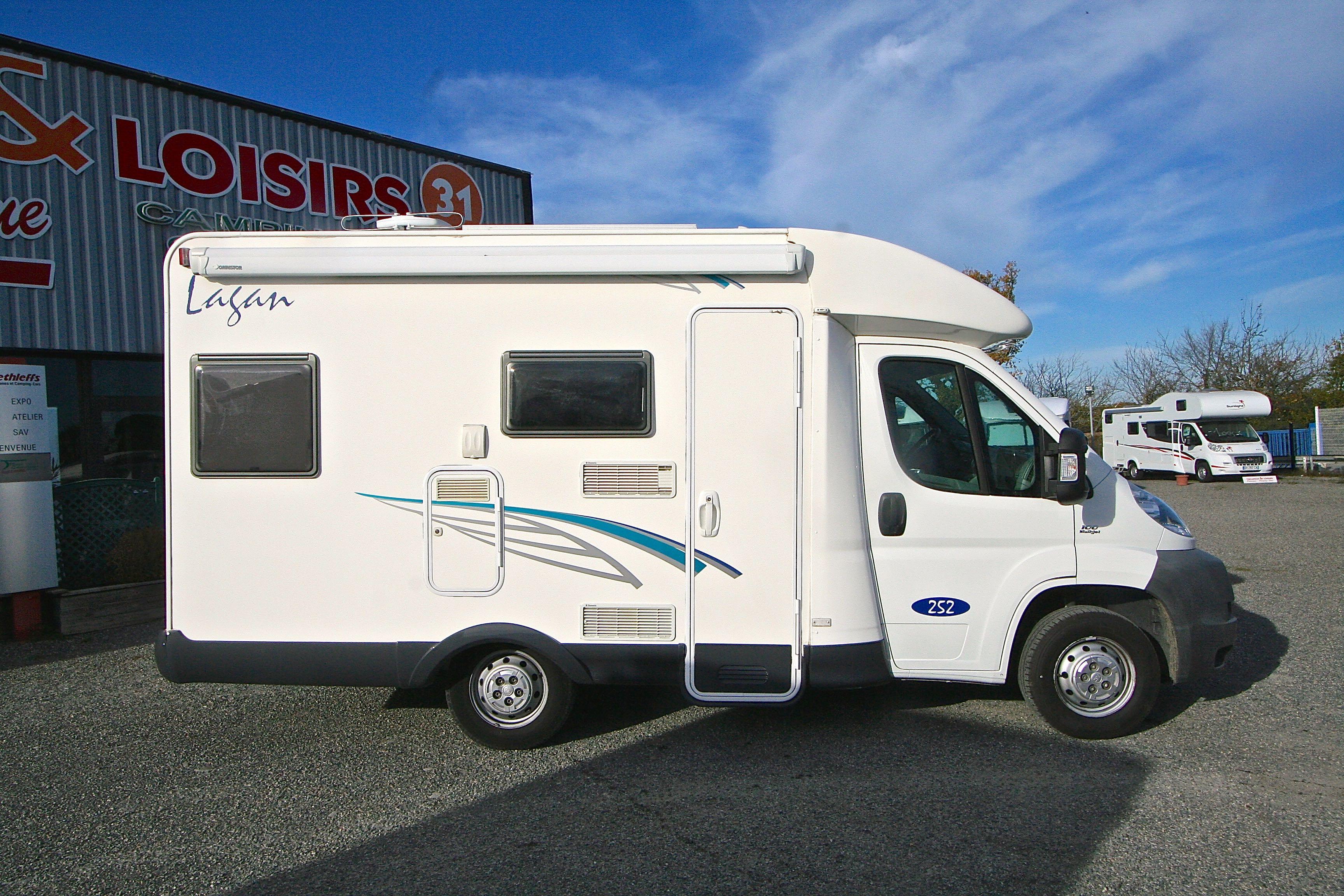 mc louis lagan 252 occasion fiat camping car en vente roques sur garonne haute garonne 31. Black Bedroom Furniture Sets. Home Design Ideas