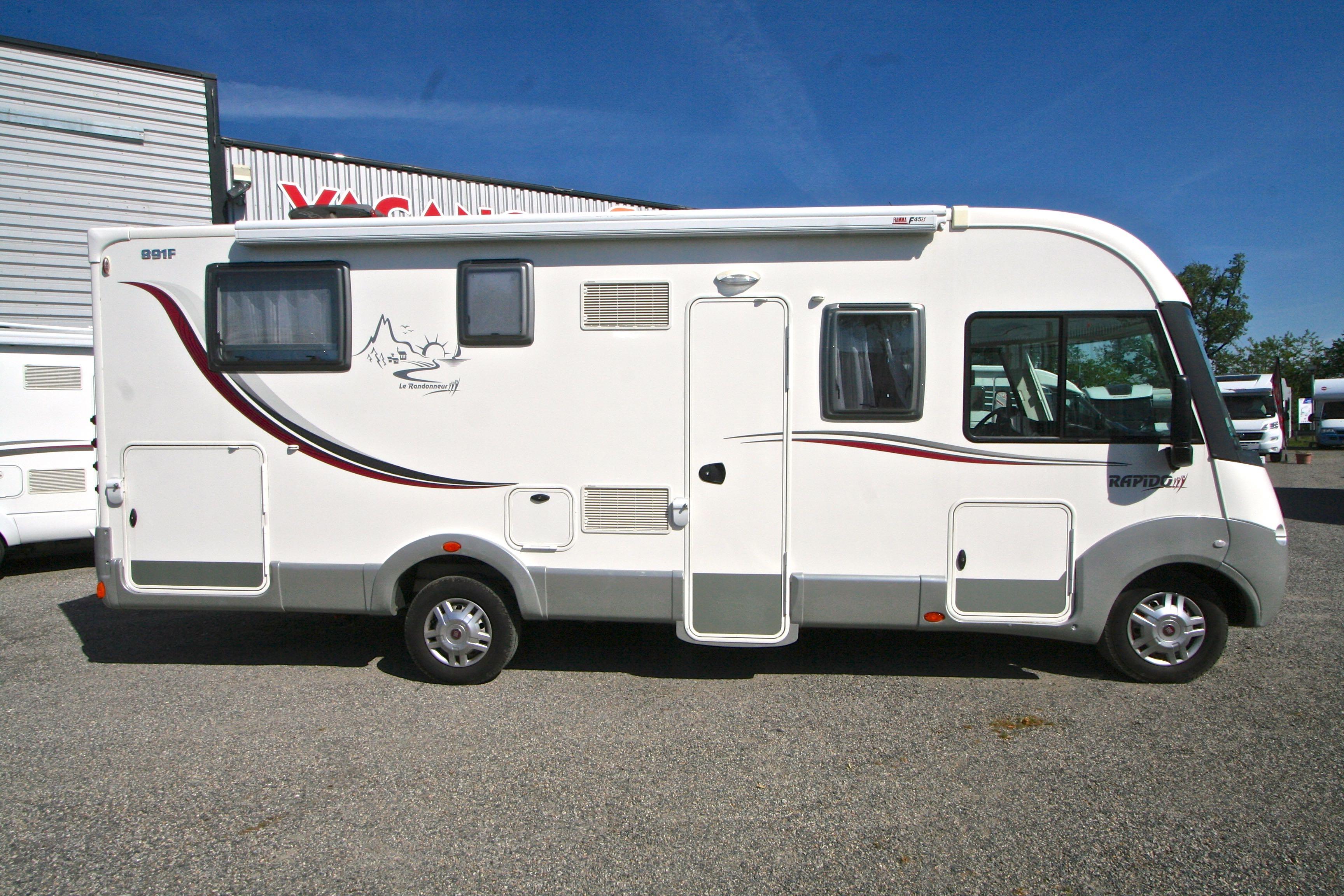 rapido 891 f occasion fiat camping car en vente roques sur garonne haute garonne 31. Black Bedroom Furniture Sets. Home Design Ideas