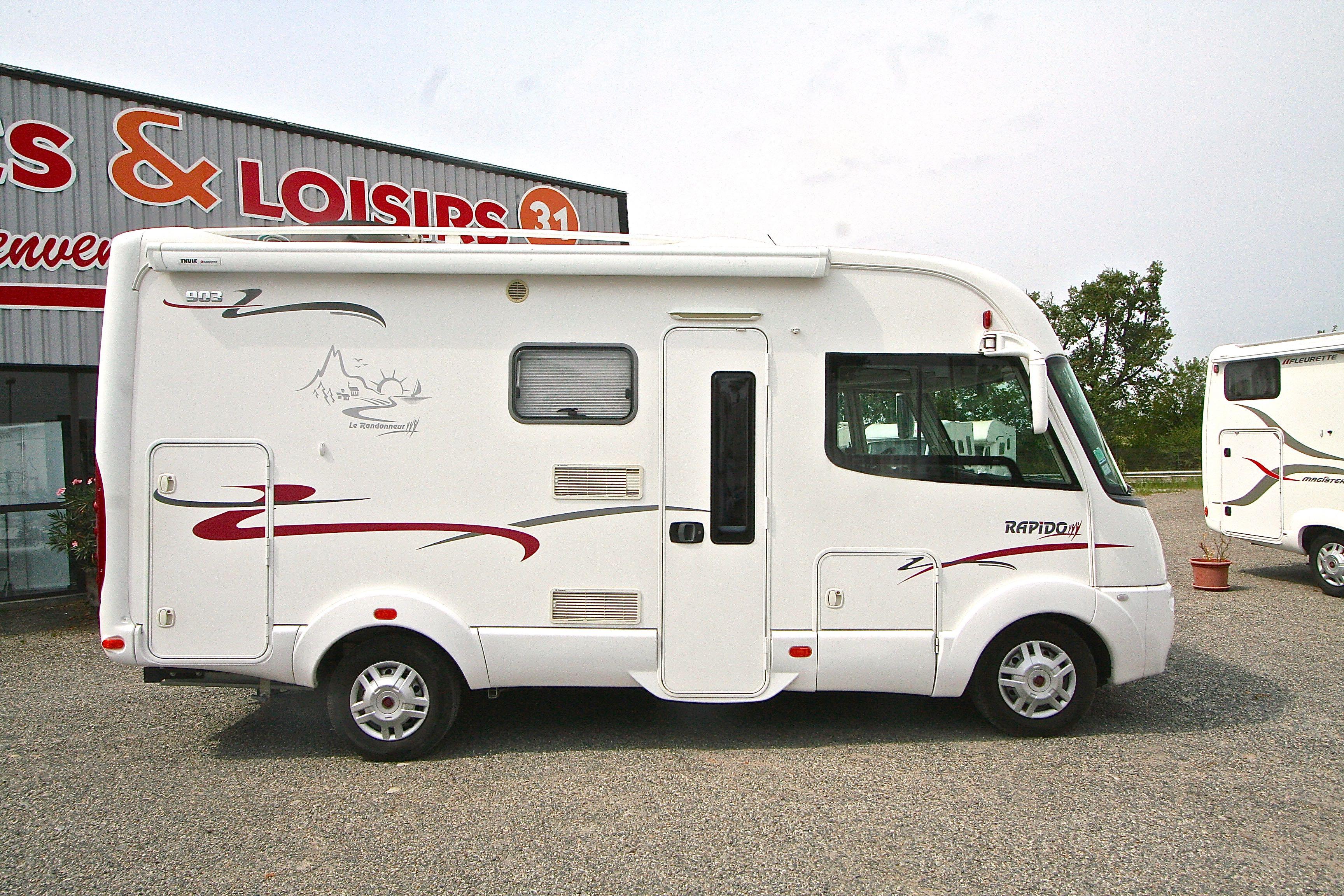 rapido 903 f occasion fiat camping car en vente roques. Black Bedroom Furniture Sets. Home Design Ideas