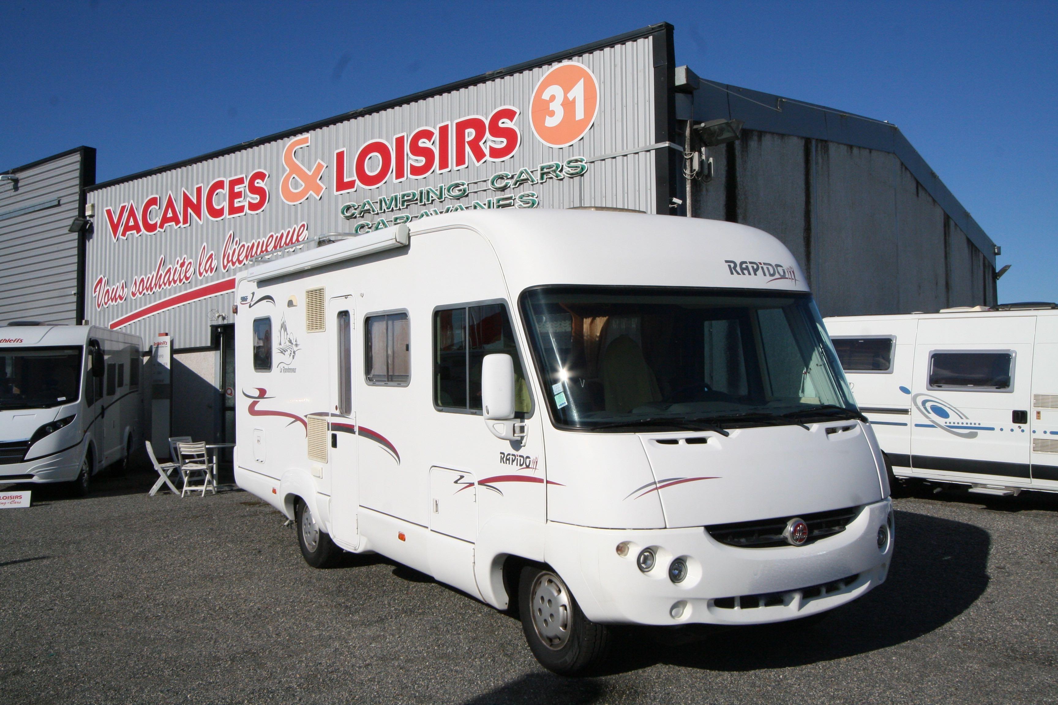 rapido 986 f occasion de 2005 fiat camping car en vente roques sur garonne haute garonne 31. Black Bedroom Furniture Sets. Home Design Ideas