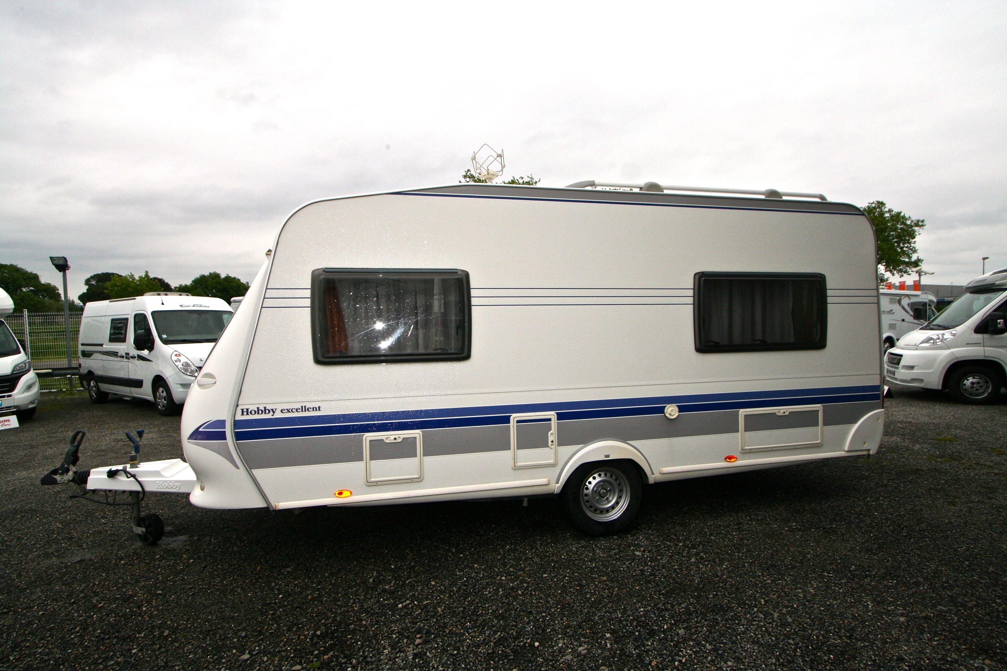 hobby 460 lu excellent occasion de 2008 caravane en vente roques sur garonne haute garonne. Black Bedroom Furniture Sets. Home Design Ideas