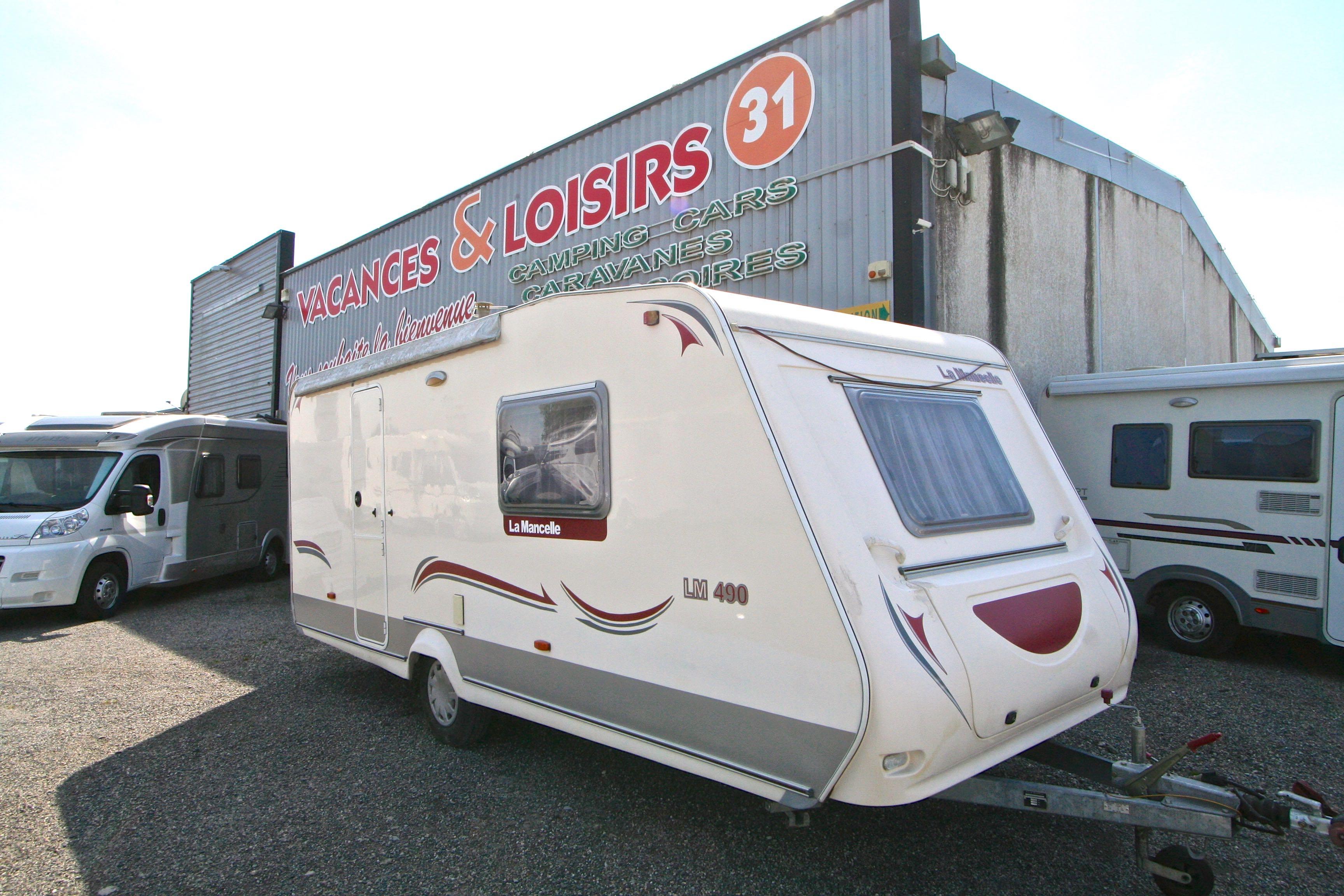 la mancelle 490 occasion de 2009 caravane en vente roques sur garonne haute garonne 31. Black Bedroom Furniture Sets. Home Design Ideas