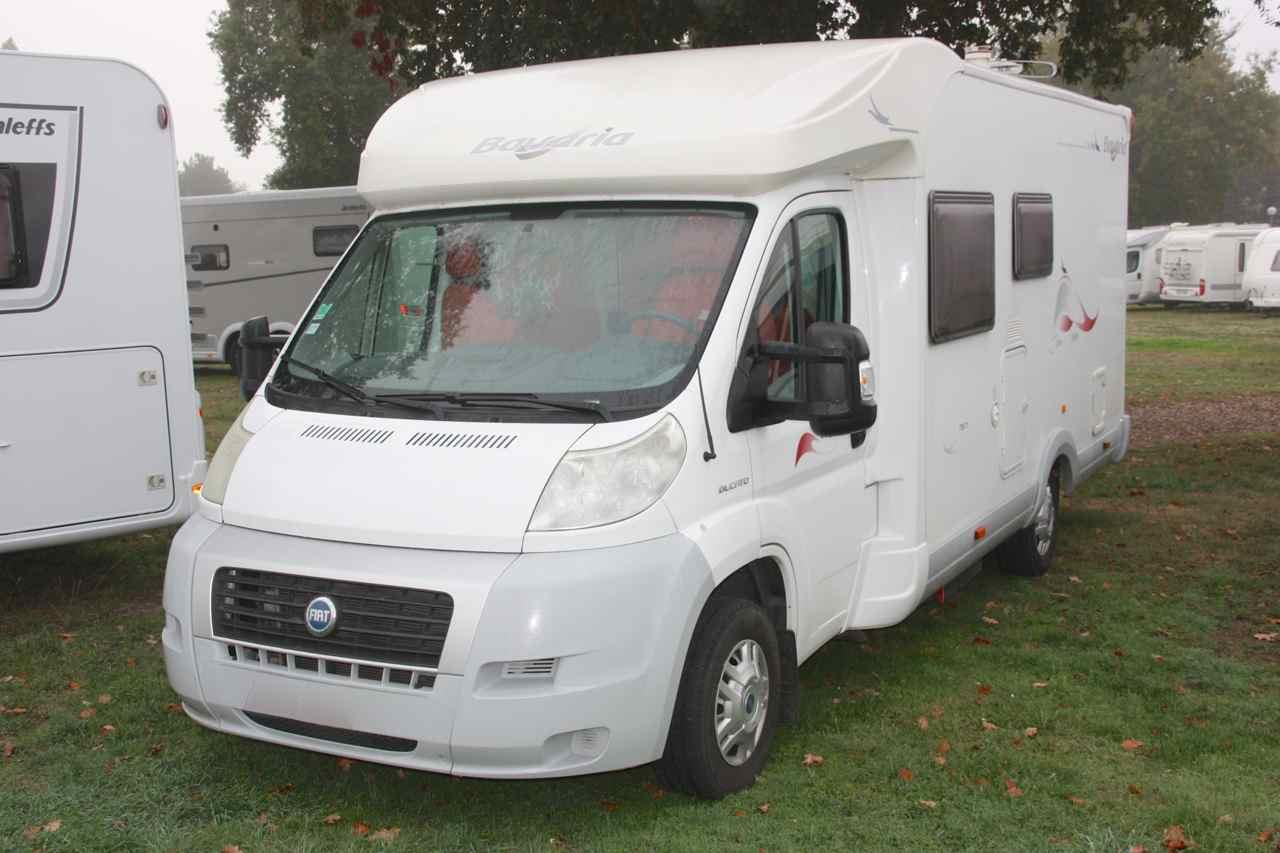 bavaria t 67 occasion de 2007 fiat camping car en. Black Bedroom Furniture Sets. Home Design Ideas