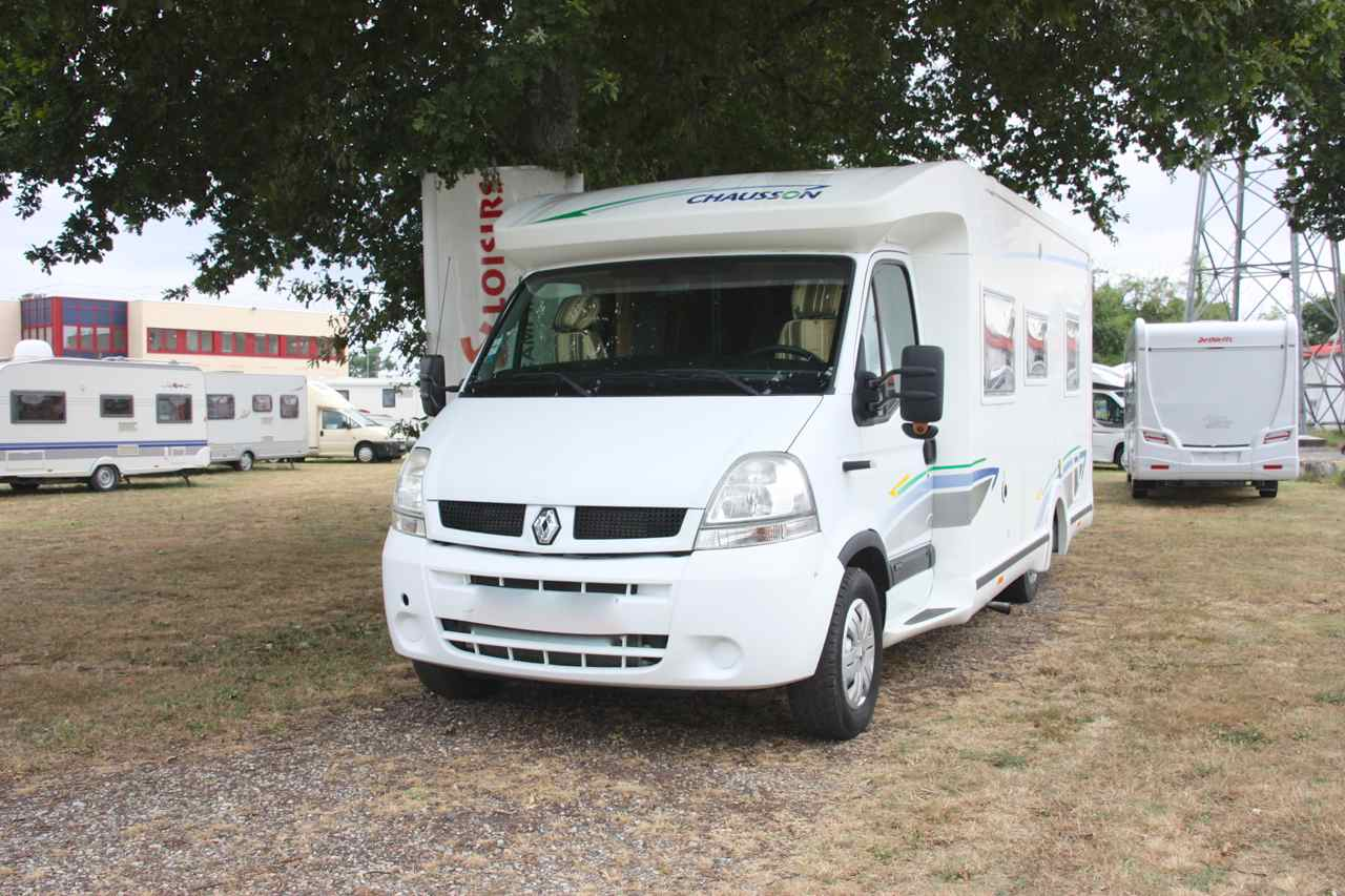 chausson allegro 83 occasion de 2006 renault camping car en vente merignac gironde 33. Black Bedroom Furniture Sets. Home Design Ideas