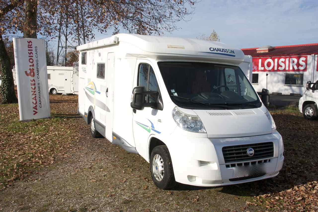 chausson welcome 95 occasion de 2007 fiat camping car. Black Bedroom Furniture Sets. Home Design Ideas