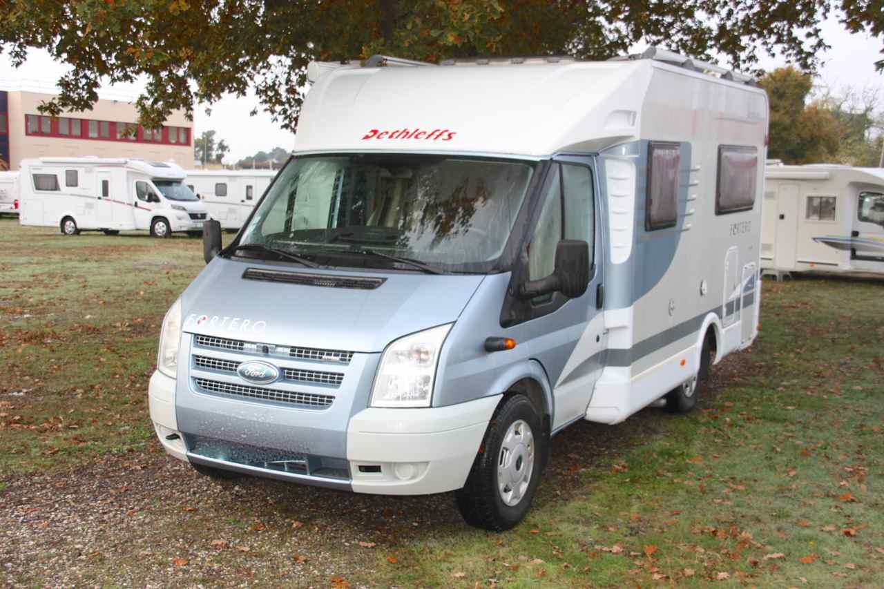 dethleffs t 5945 fortero occasion de 2008 ford camping car en vente merignac gironde 33. Black Bedroom Furniture Sets. Home Design Ideas