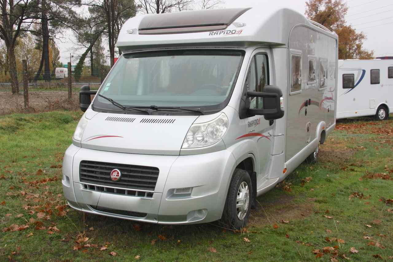 rapido 7065 plus occasion de 2008 fiat camping car en. Black Bedroom Furniture Sets. Home Design Ideas