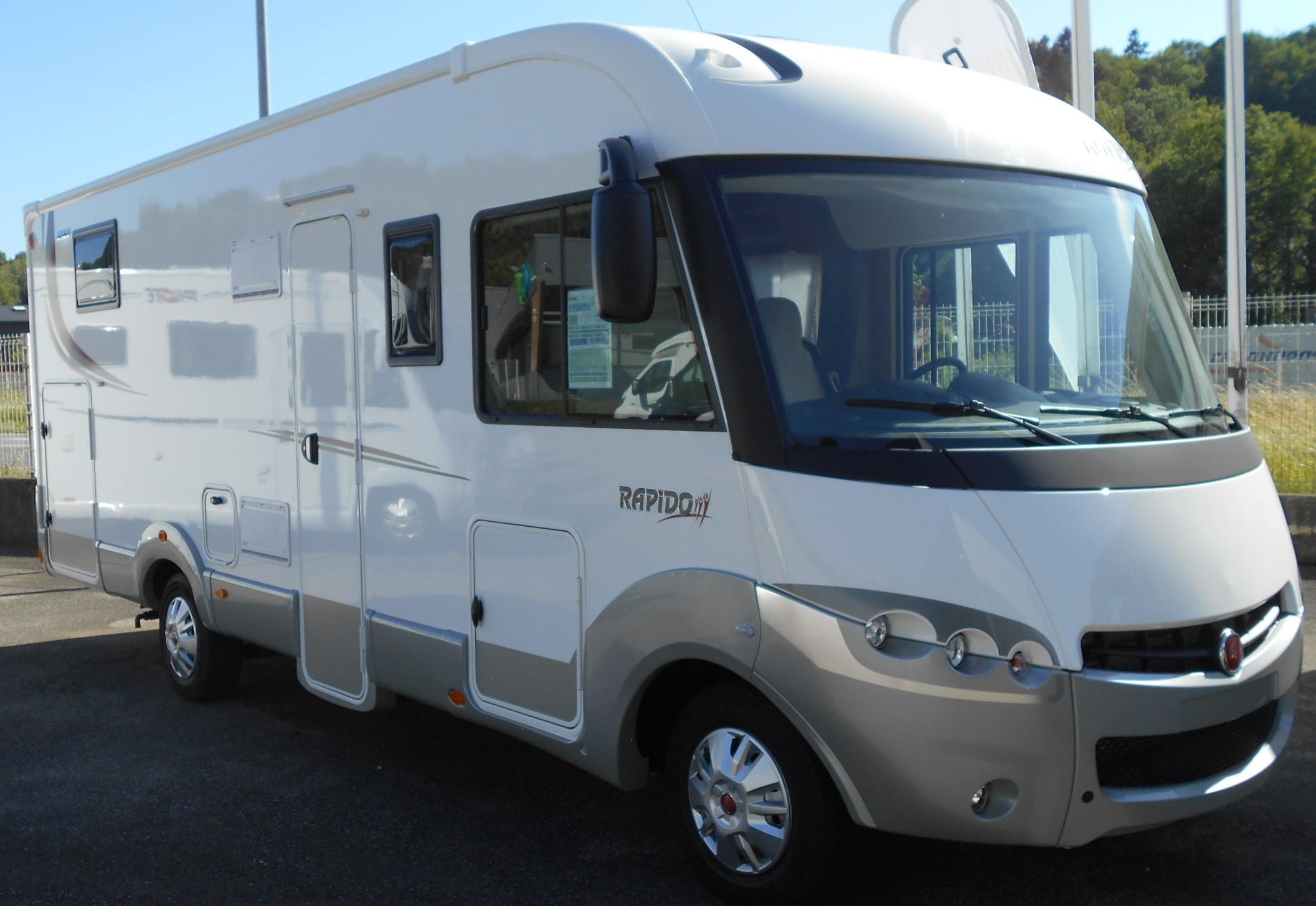 rapido 890 f neuf fiat camping car en vente la balme de sillingy haute savoie 74. Black Bedroom Furniture Sets. Home Design Ideas