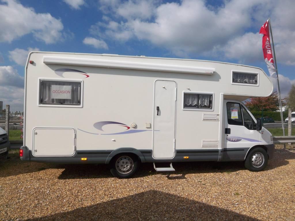 challenger 191 su occasion de 2003 ducato camping car en vente parcay meslay indre et loire. Black Bedroom Furniture Sets. Home Design Ideas