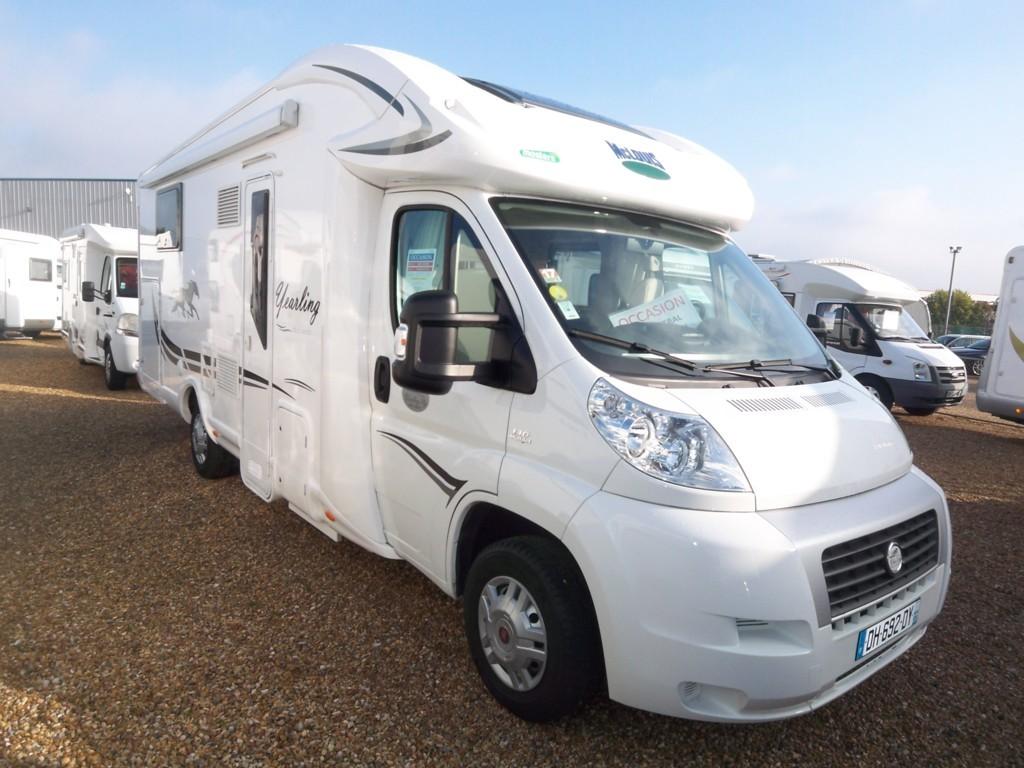 mc louis yearling 74 g occasion de 2014 fiat camping car en vente parcay meslay indre et. Black Bedroom Furniture Sets. Home Design Ideas