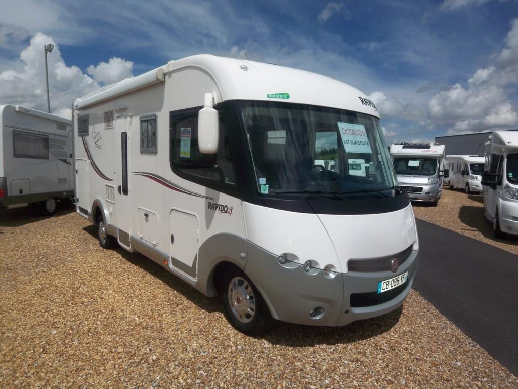 rapido 983 df occasion de 2012 fiat camping car en vente parcay meslay indre et loire 37. Black Bedroom Furniture Sets. Home Design Ideas