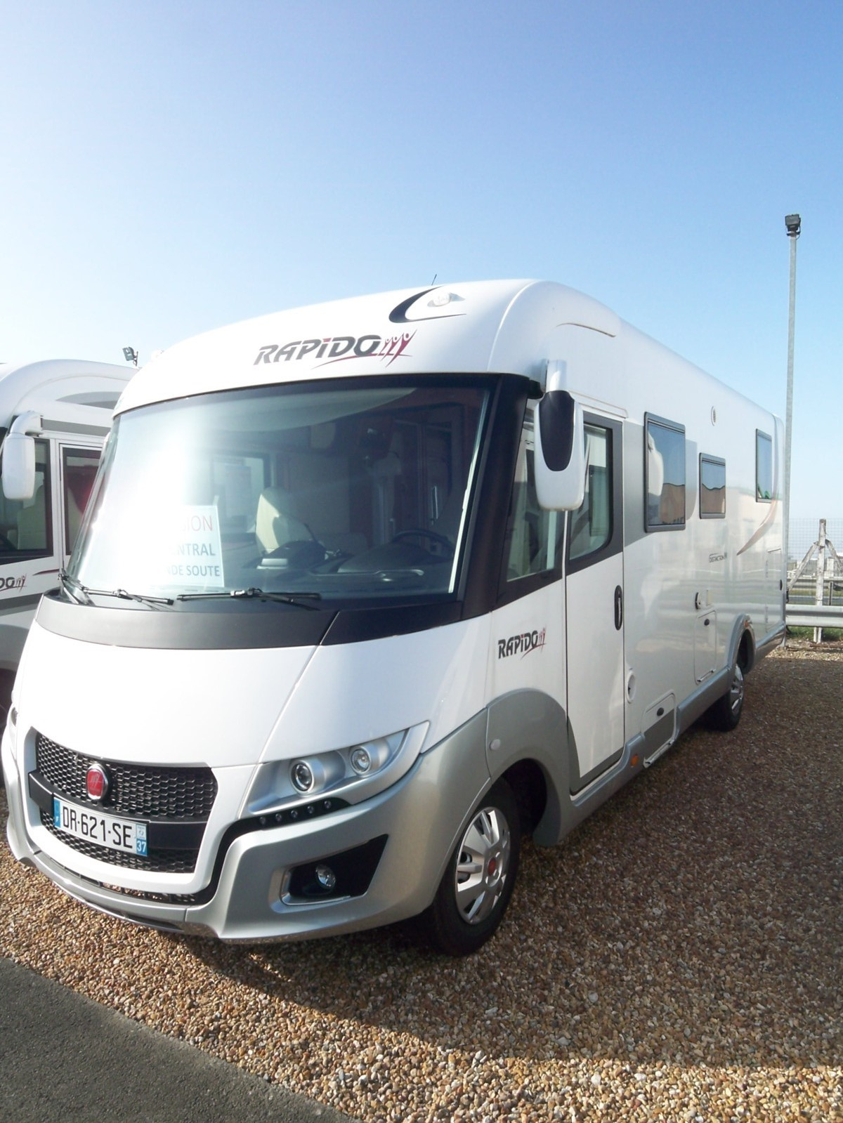 Rapido I 90 Distinction occasion de 2015 - Fiat - Camping ...