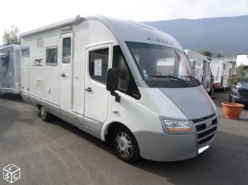 laika rexosline 650 occasion de 2009 fiat camping car en vente voglans savoie 73. Black Bedroom Furniture Sets. Home Design Ideas