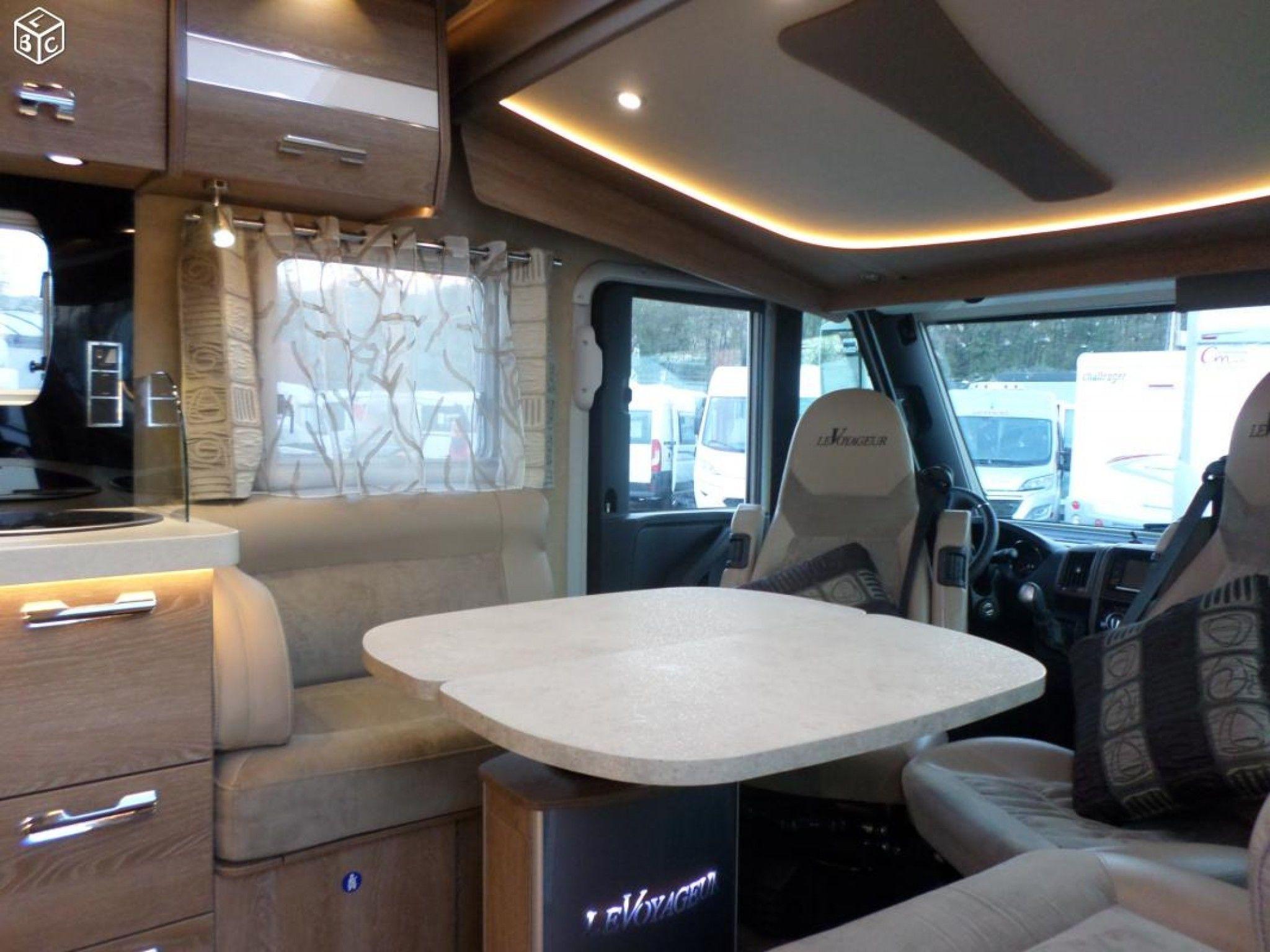 le voyageur lv 86 lj occasion de 2015 - fiat - camping car en vente  u00e0 voglans  savoie