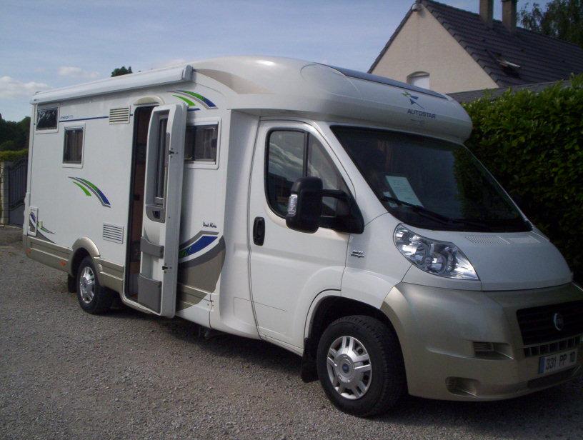 autostar athenor 578 pack aldea occasion de 2007 fiat camping car en vente saint pouange. Black Bedroom Furniture Sets. Home Design Ideas