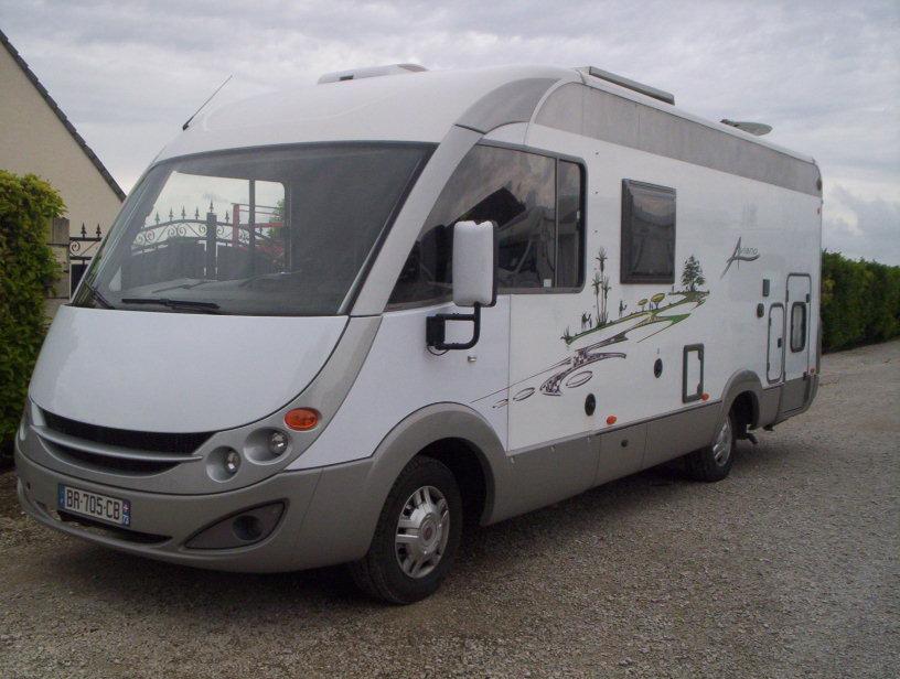 burstner aviano i 675 g occasion de 2008 fiat camping car en vente saint pouange troyes. Black Bedroom Furniture Sets. Home Design Ideas