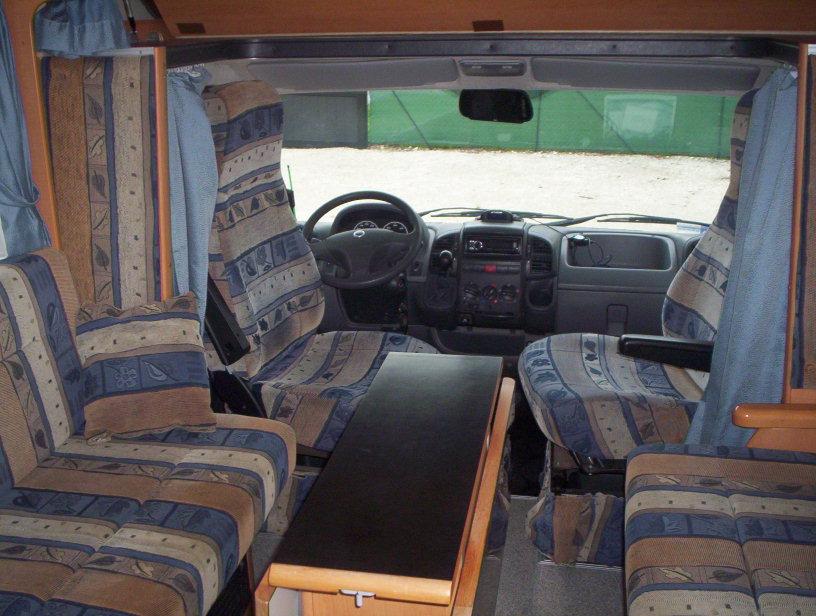 frankia compact class occasion de 2002 fiat camping car en vente saint pouange troyes. Black Bedroom Furniture Sets. Home Design Ideas