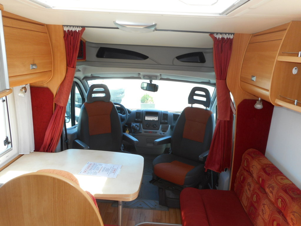 challenger mageo 115 occasion de 2007 fiat camping car. Black Bedroom Furniture Sets. Home Design Ideas