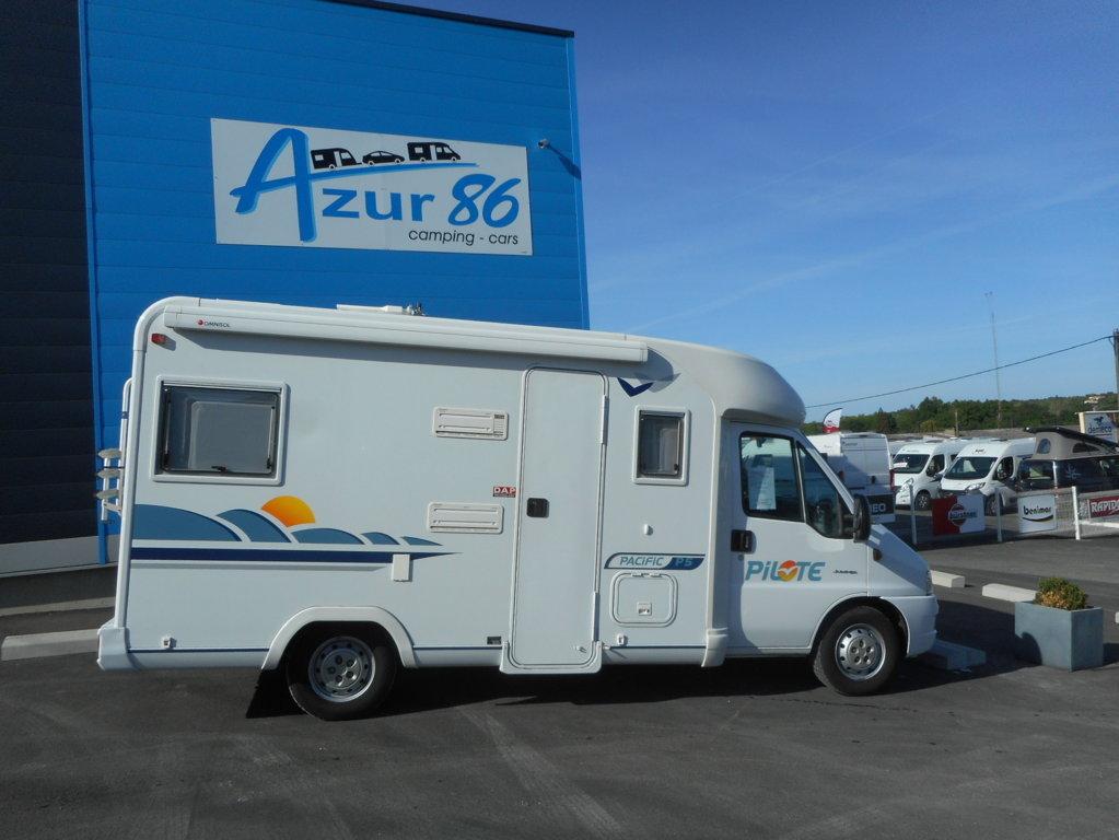 pilote p 5 occasion porteur citroen jumper 2l8 hdi 127 cv camping car vendre en vienne 86. Black Bedroom Furniture Sets. Home Design Ideas