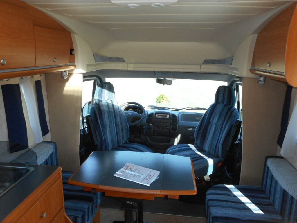 pilote p 5 occasion de 2004 citroen camping car en. Black Bedroom Furniture Sets. Home Design Ideas