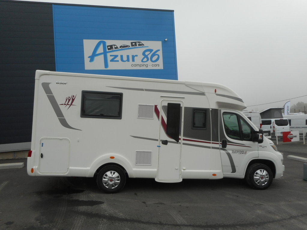 Rapido 650 F neuf de 2018 - Fiat - Camping car en vente à Migne ...