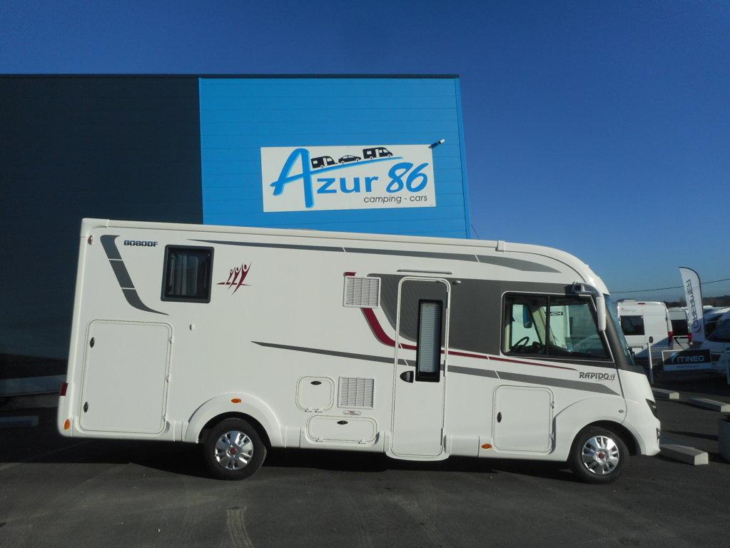 rapido 8080 df neuf de 2018 fiat camping car en vente migne auxances vienne 86. Black Bedroom Furniture Sets. Home Design Ideas