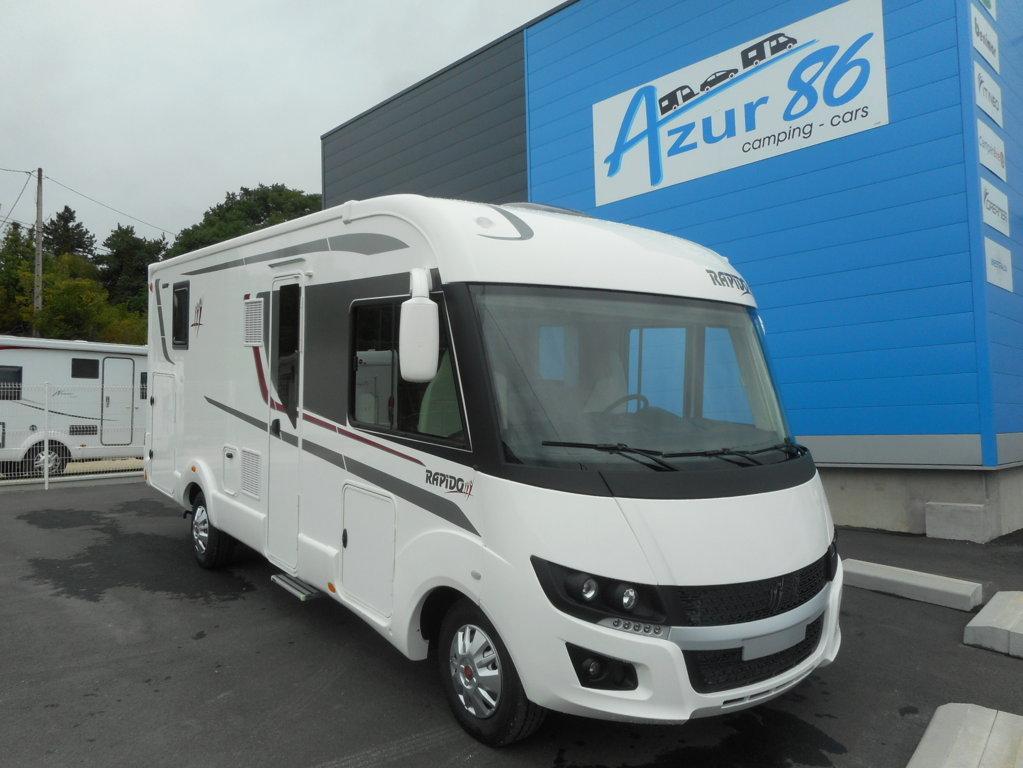 rapido 880 f neuf de 2018 fiat camping car en vente. Black Bedroom Furniture Sets. Home Design Ideas