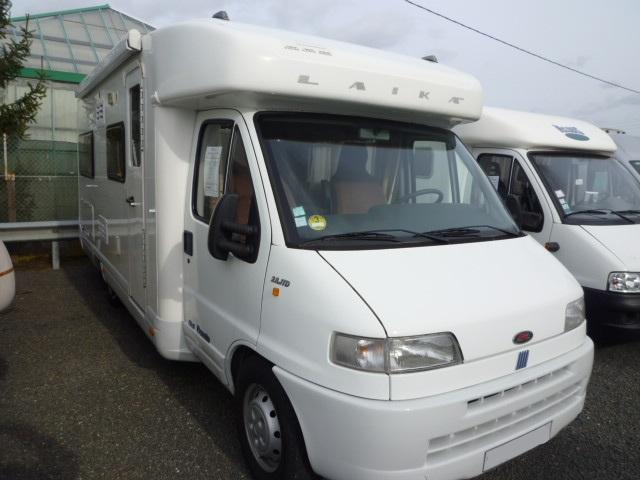 laika ecovip 1 1 occasion de 2009 fiat camping car en vente monce en belin sarthe 72. Black Bedroom Furniture Sets. Home Design Ideas